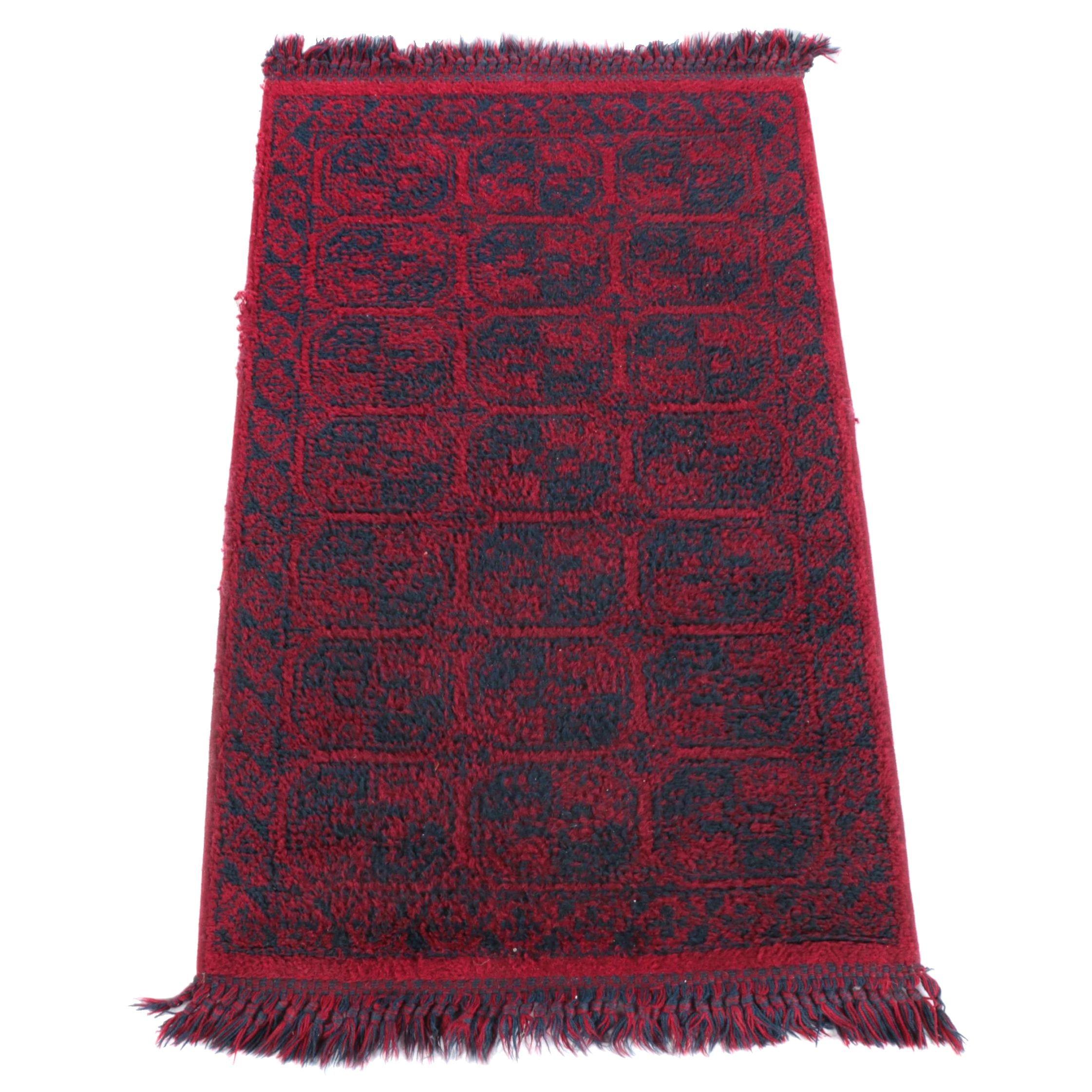 """Vintage Power-Loomed Karastan """"Arribeau"""" Wool Area Rug"""