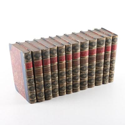 Antique Twelve-Volume Set of Novels by Lord Lytton