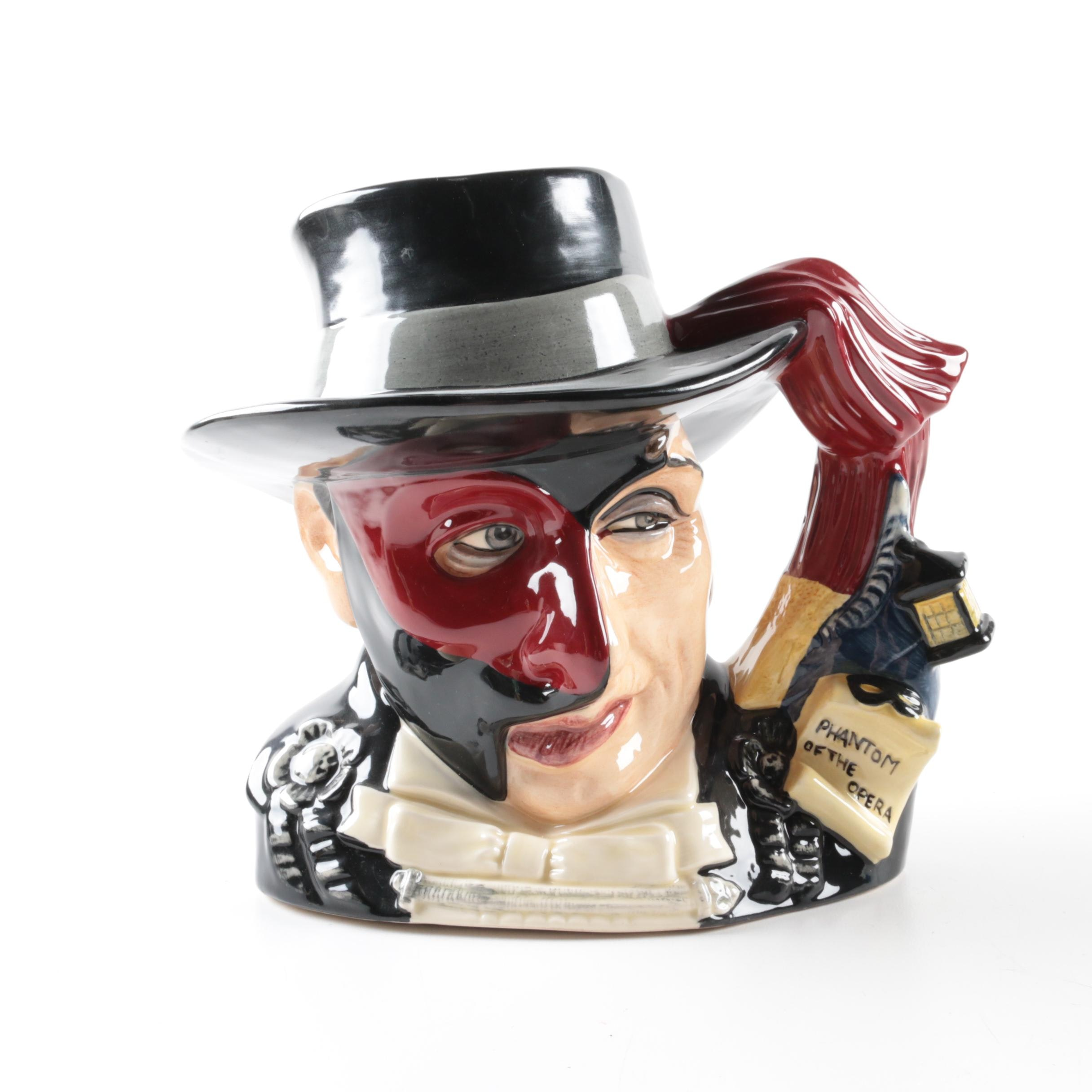 "1995 Royal Doulton ""The Phantom of the Opera"" Character Mug"