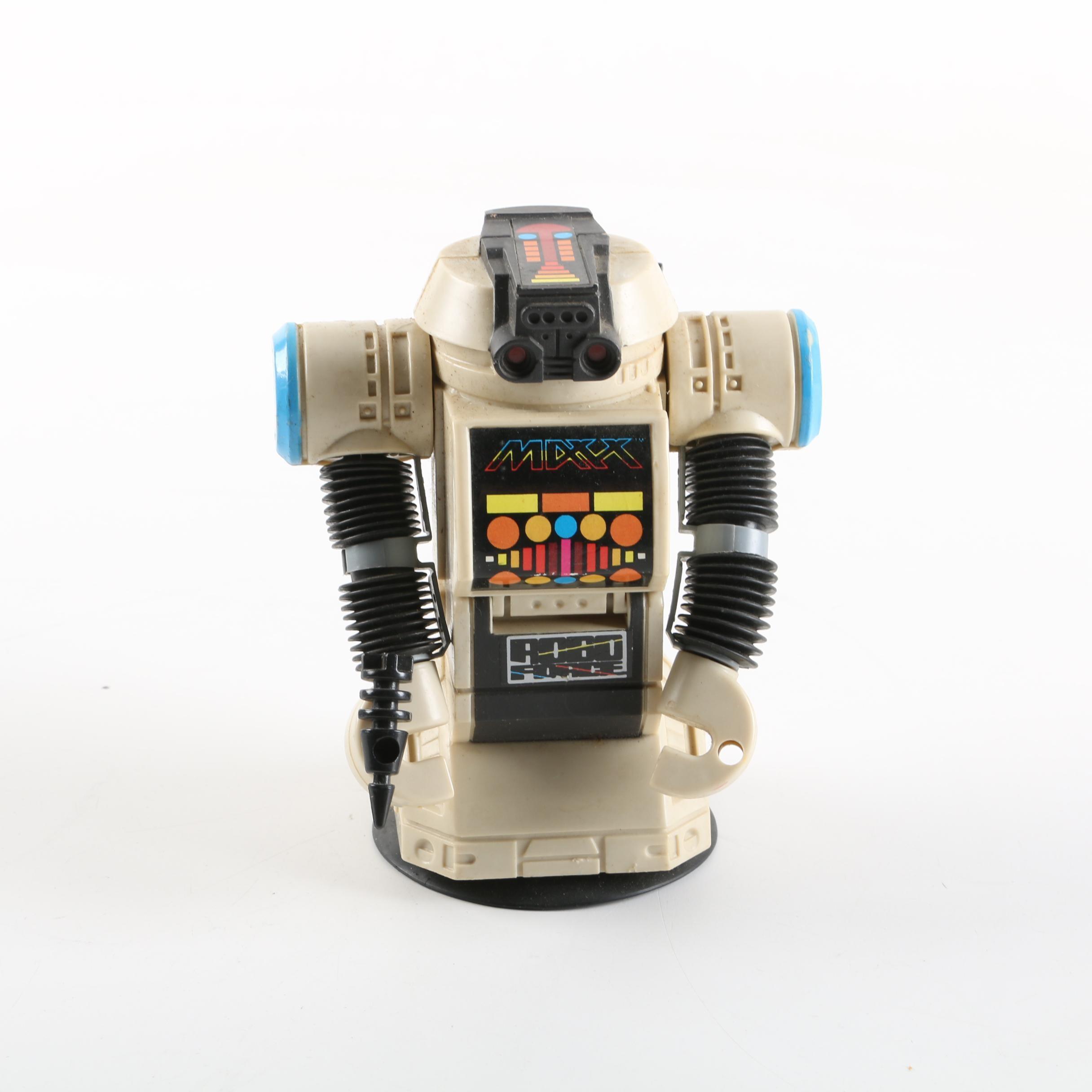 "Robo Force ""Maxx Steele"" Action Figure"
