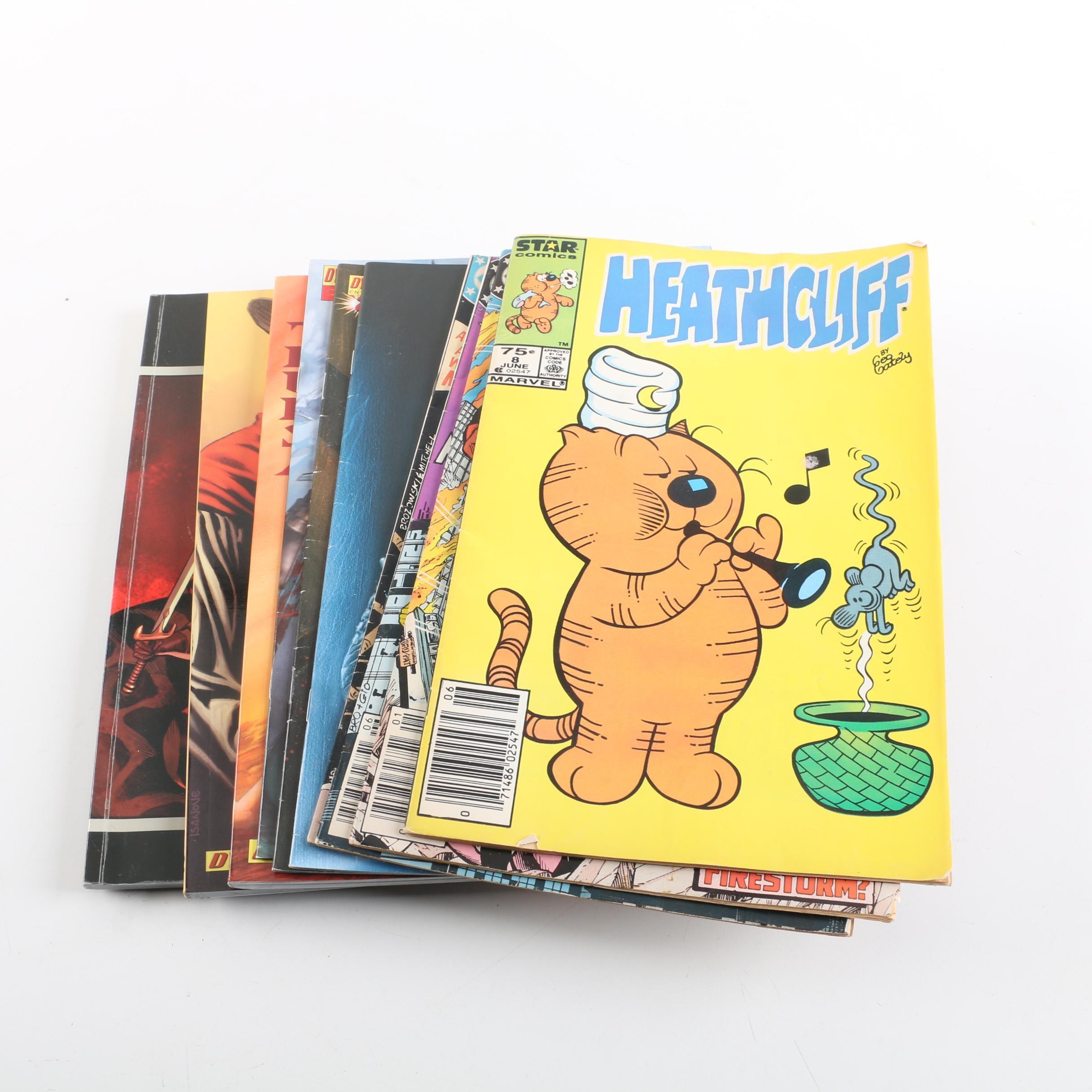 "Comic Books and Graphic Novels Including ""Firestorm"""