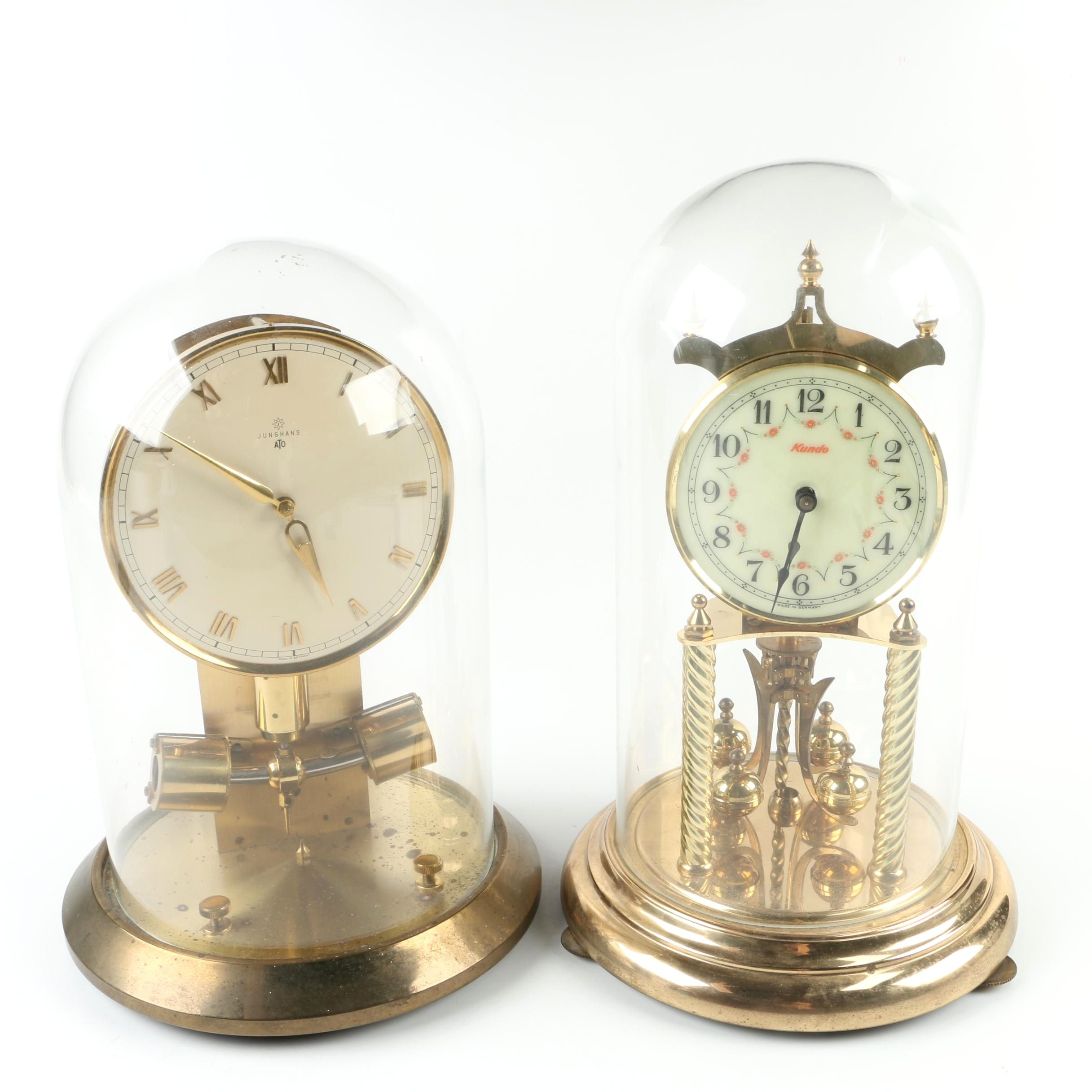 Kundo and Junghaus Anniversary Clocks