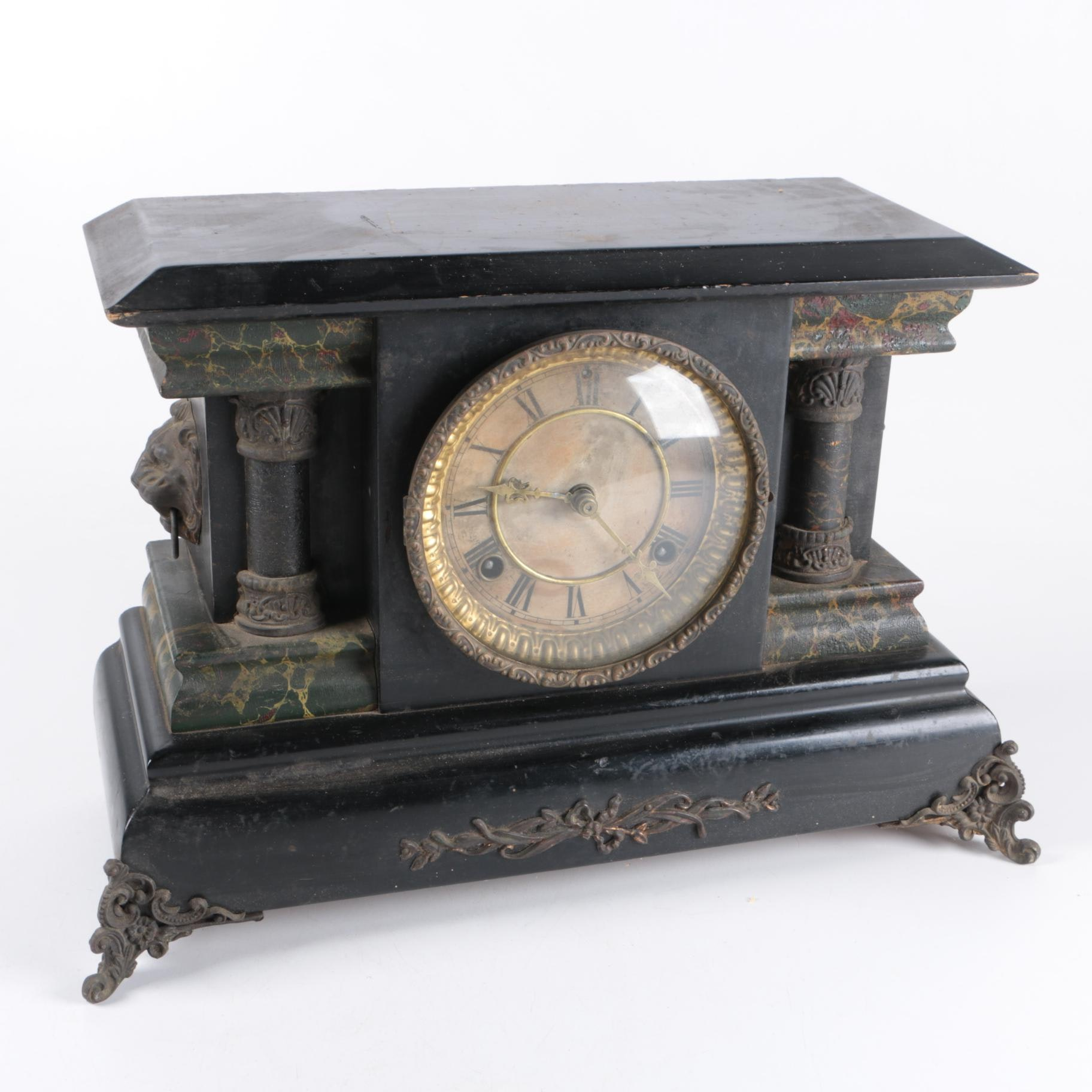 "Antique ""The Lady Isabelle"" Mantel Clock"