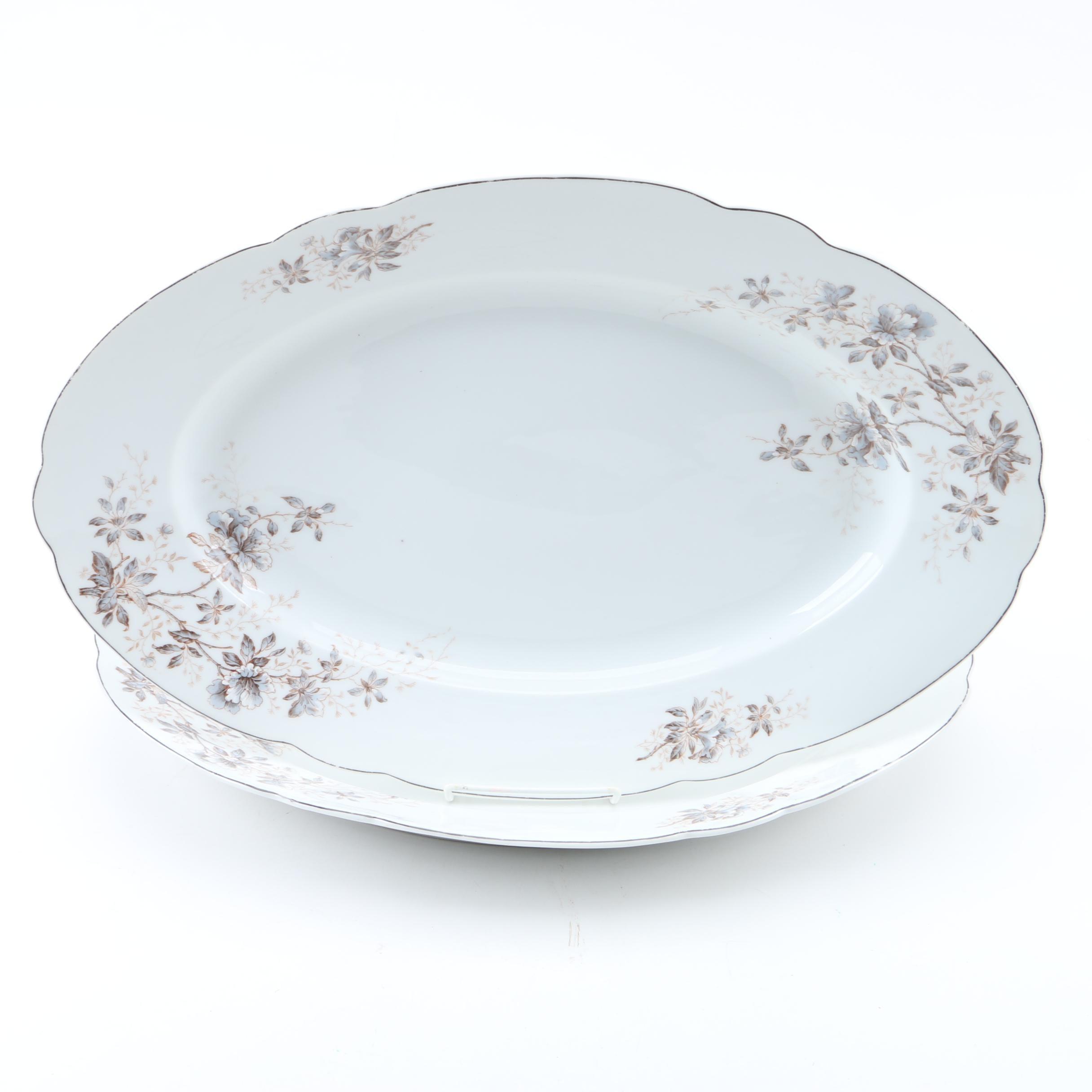 F.A. Schumann Serving Platters