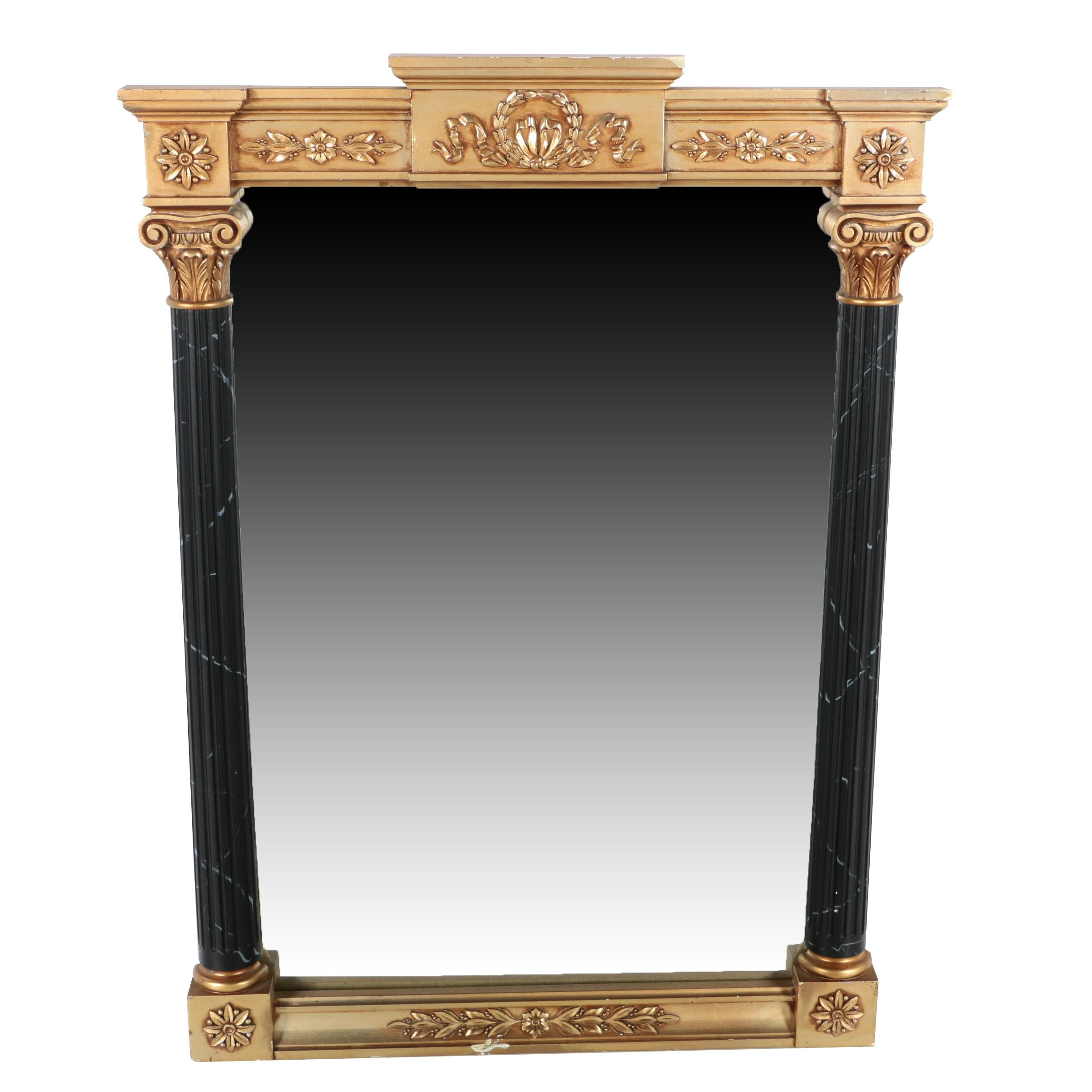 Neo-Classical Style Wall Mirror by The Willow Creek Collection