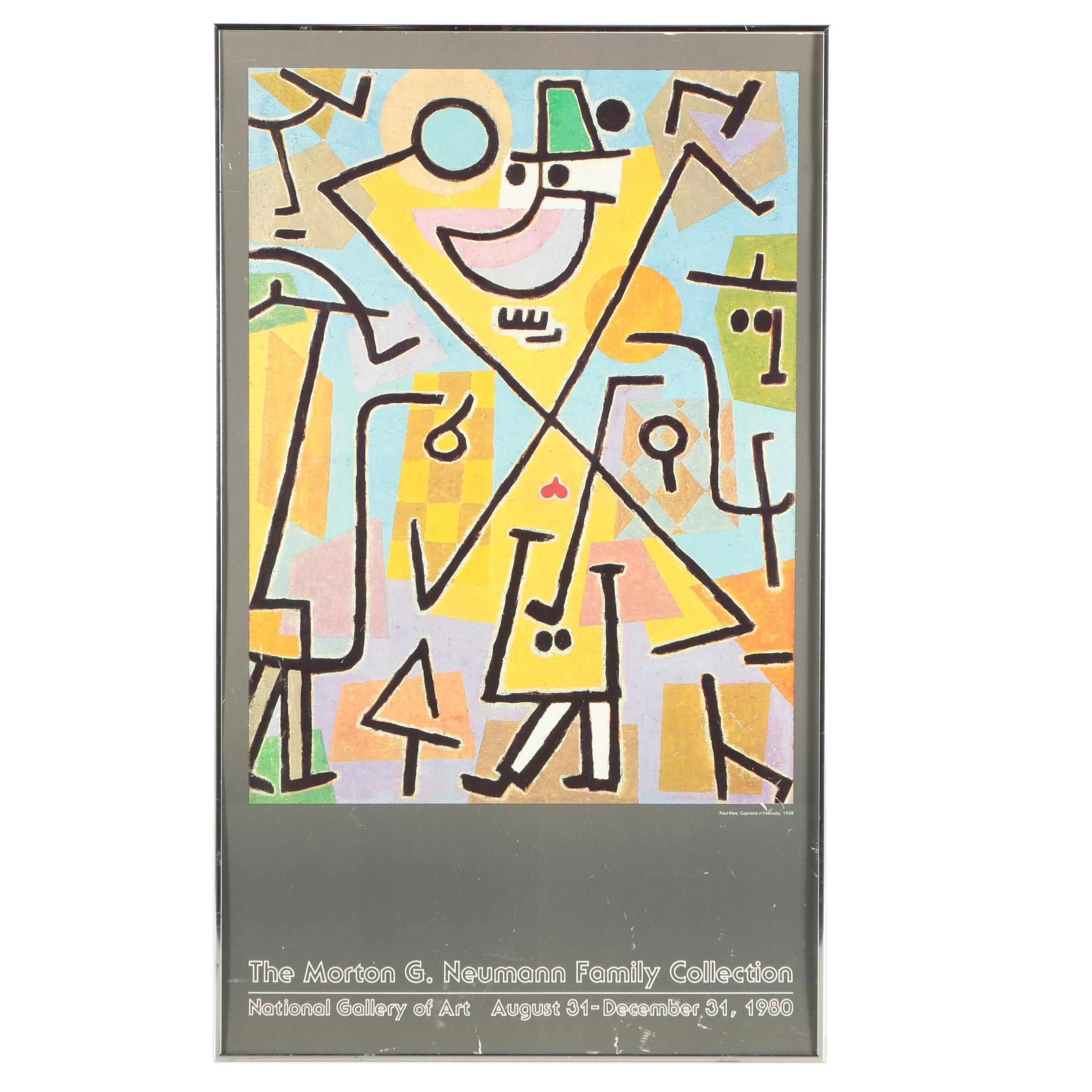 National Gallery of Art Exhibition Poster After Paul Klee