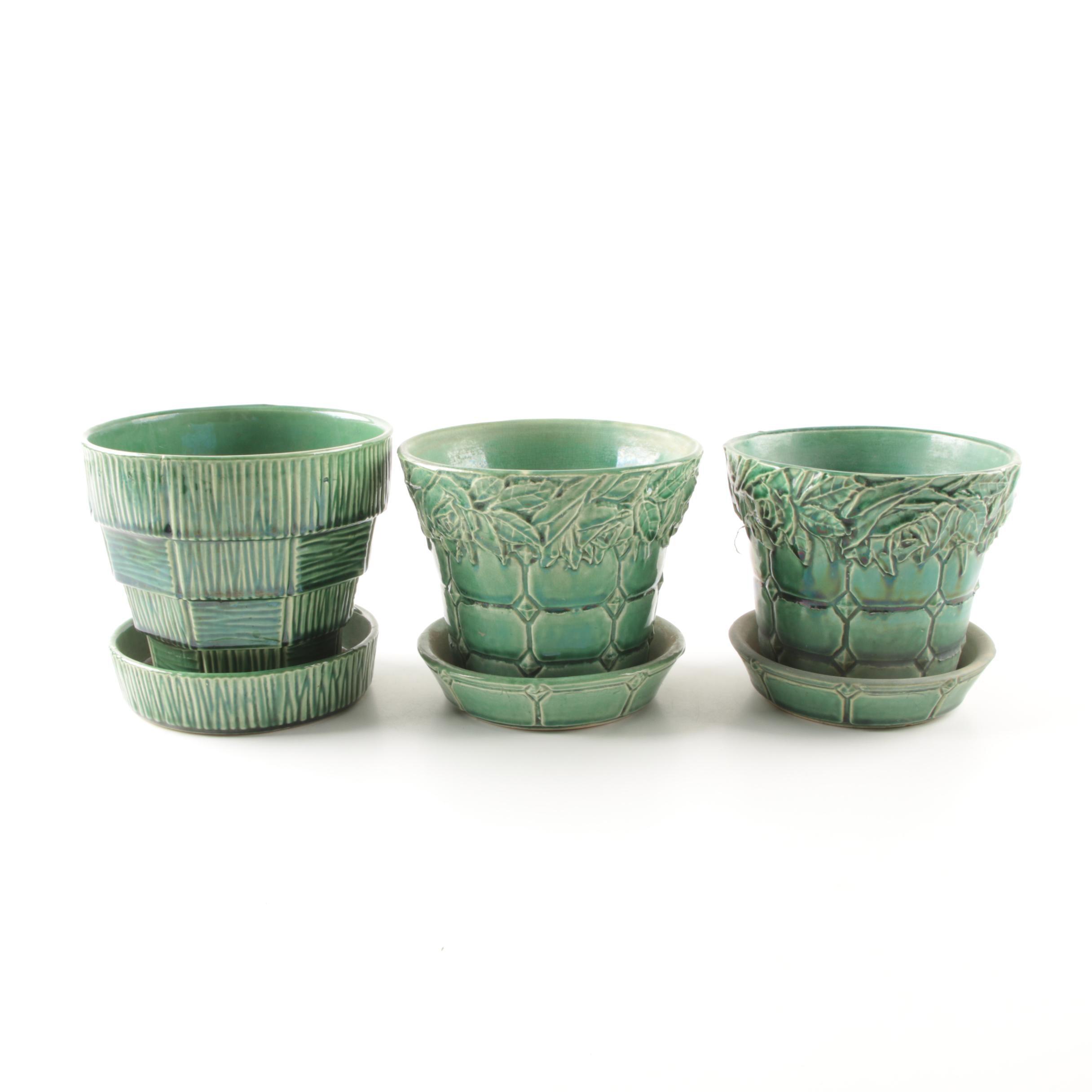McCoy Art Pottery Planters