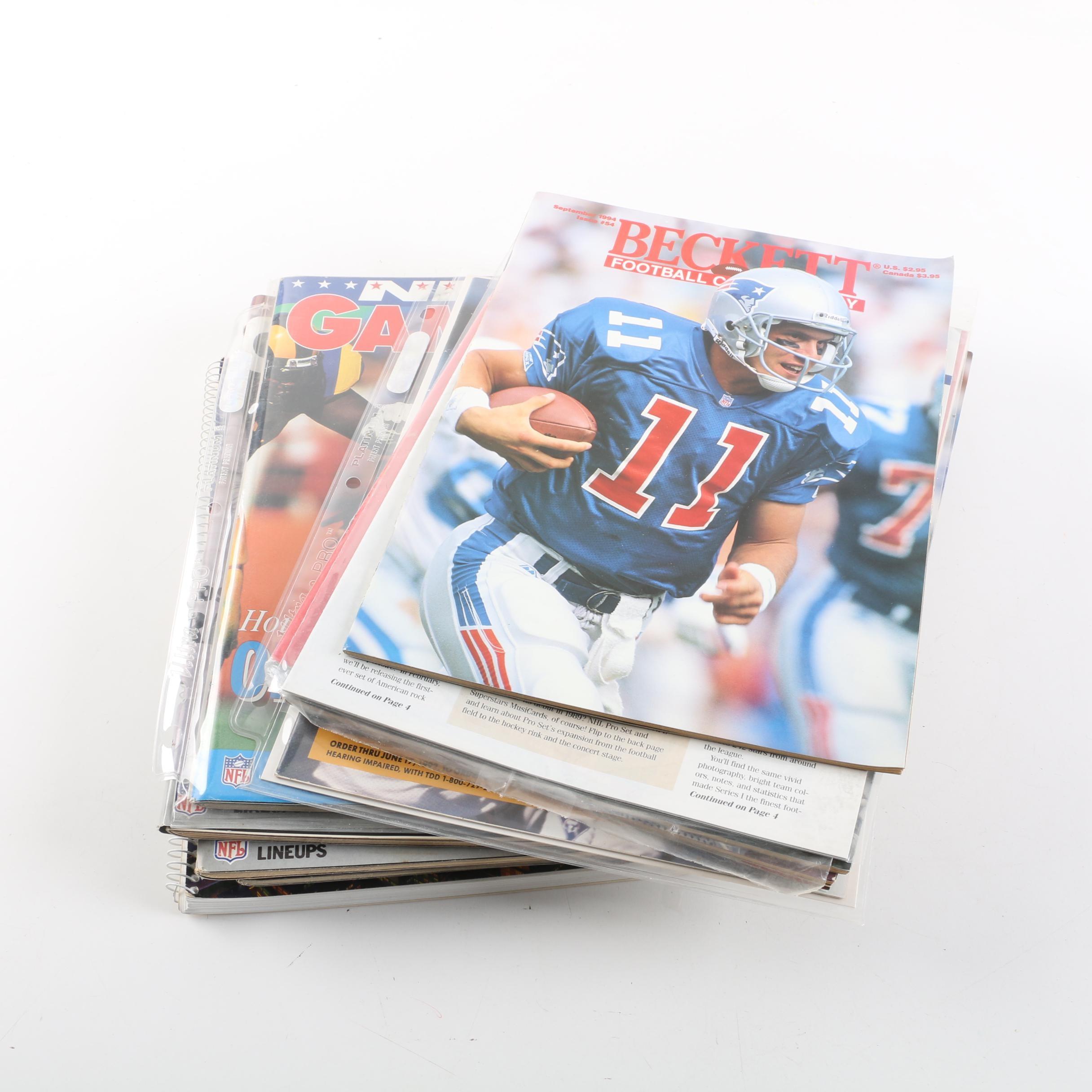 1990s Football Magazines
