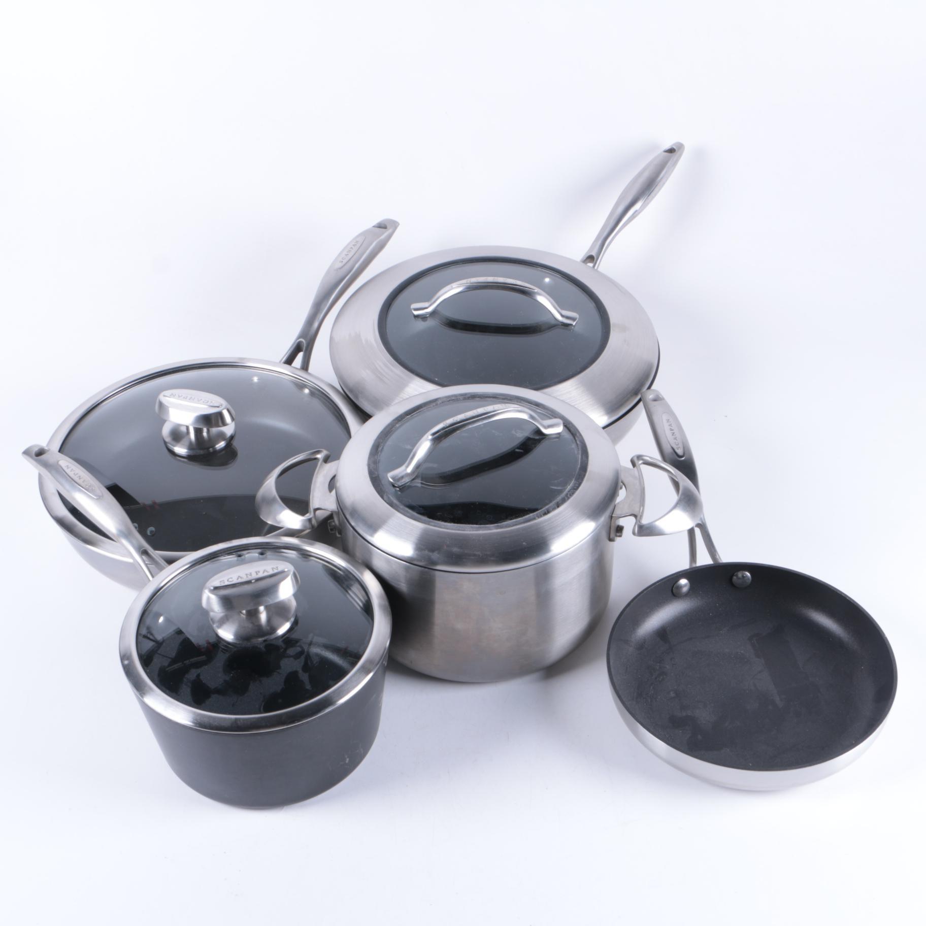 Danish Scanpan Ceramic and Titanium Cookware Set
