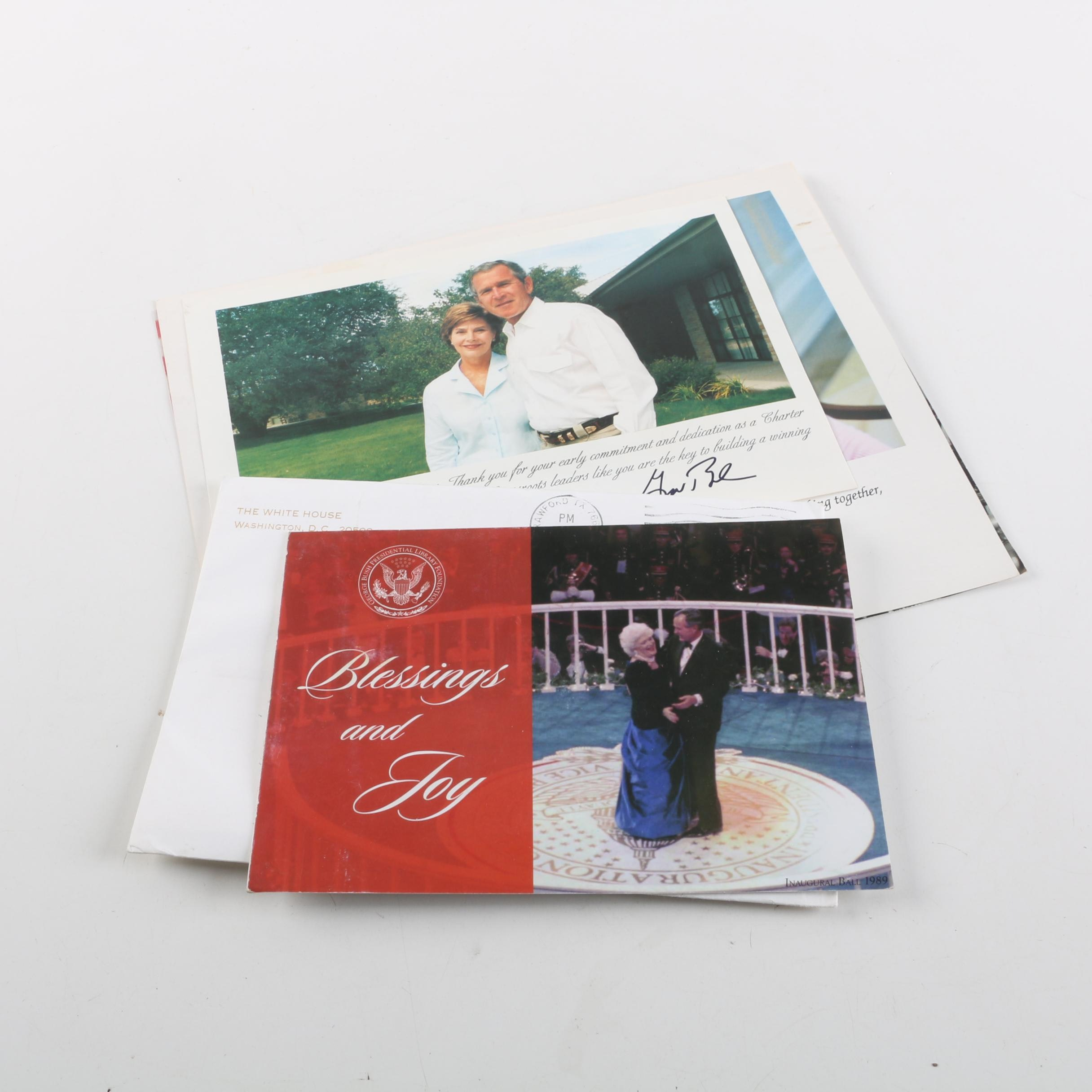 Ronald Reagan Foundation, RNC, and White House Greeting Cards