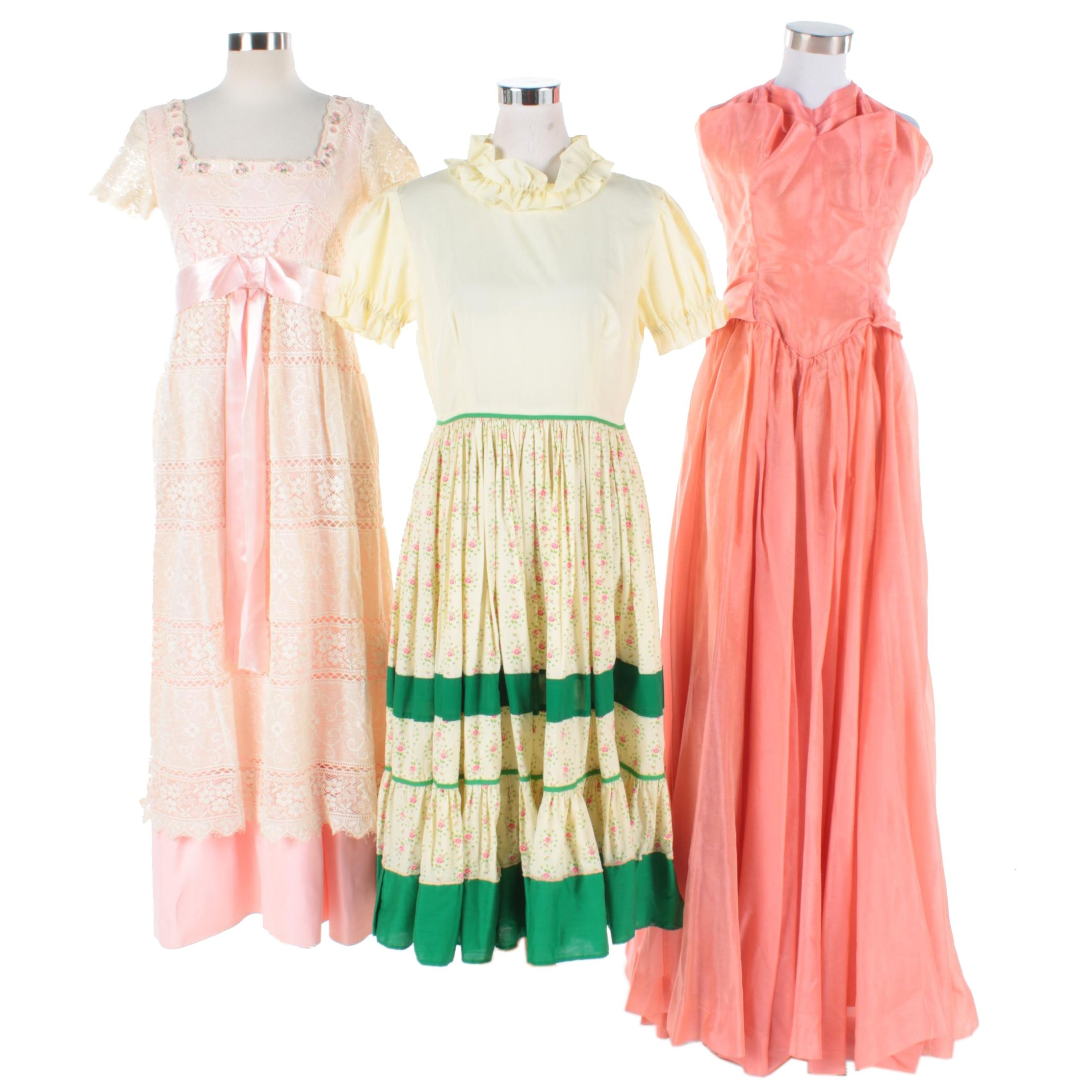 Vintage Formal and Day Dresses
