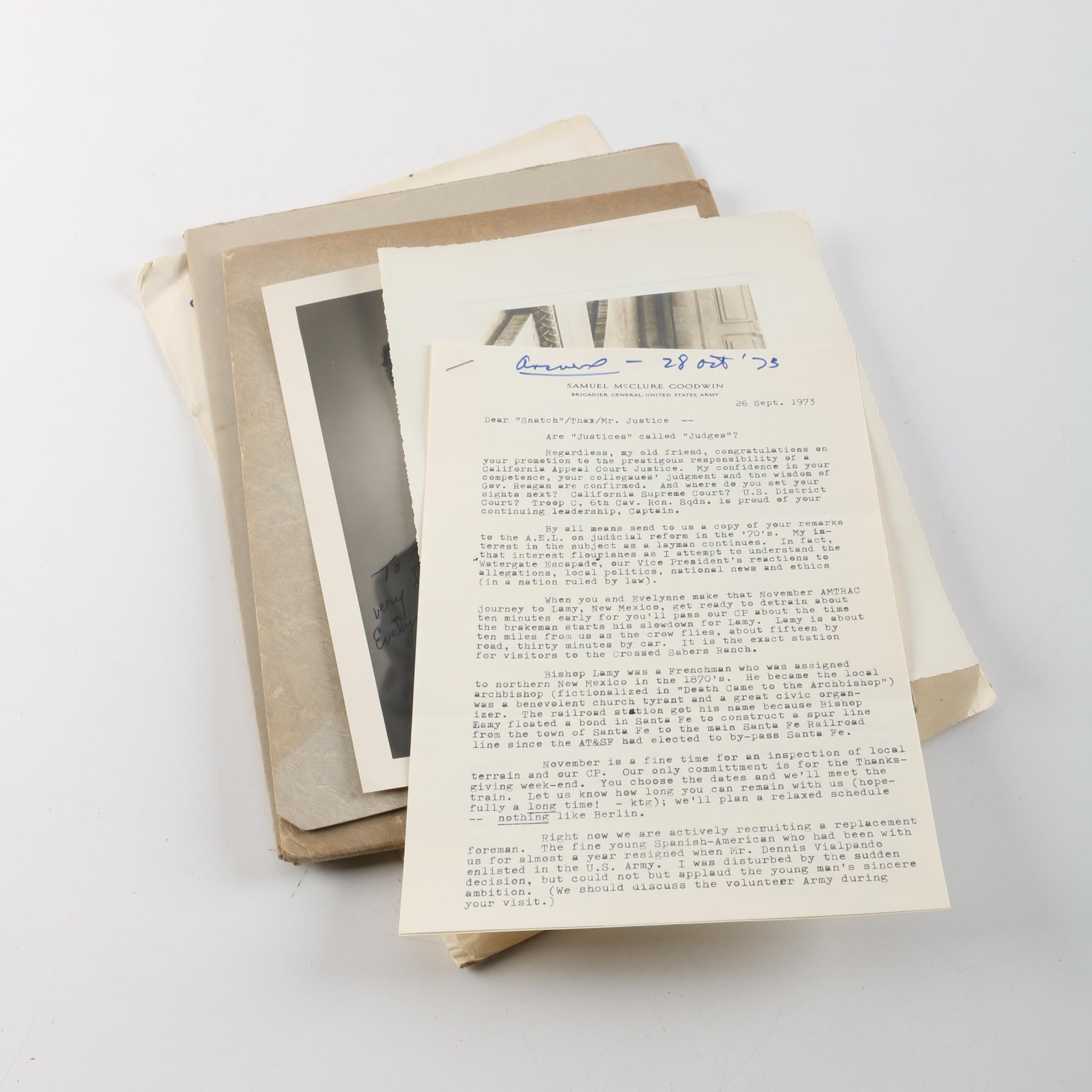 Vintage Military Letters and Photos