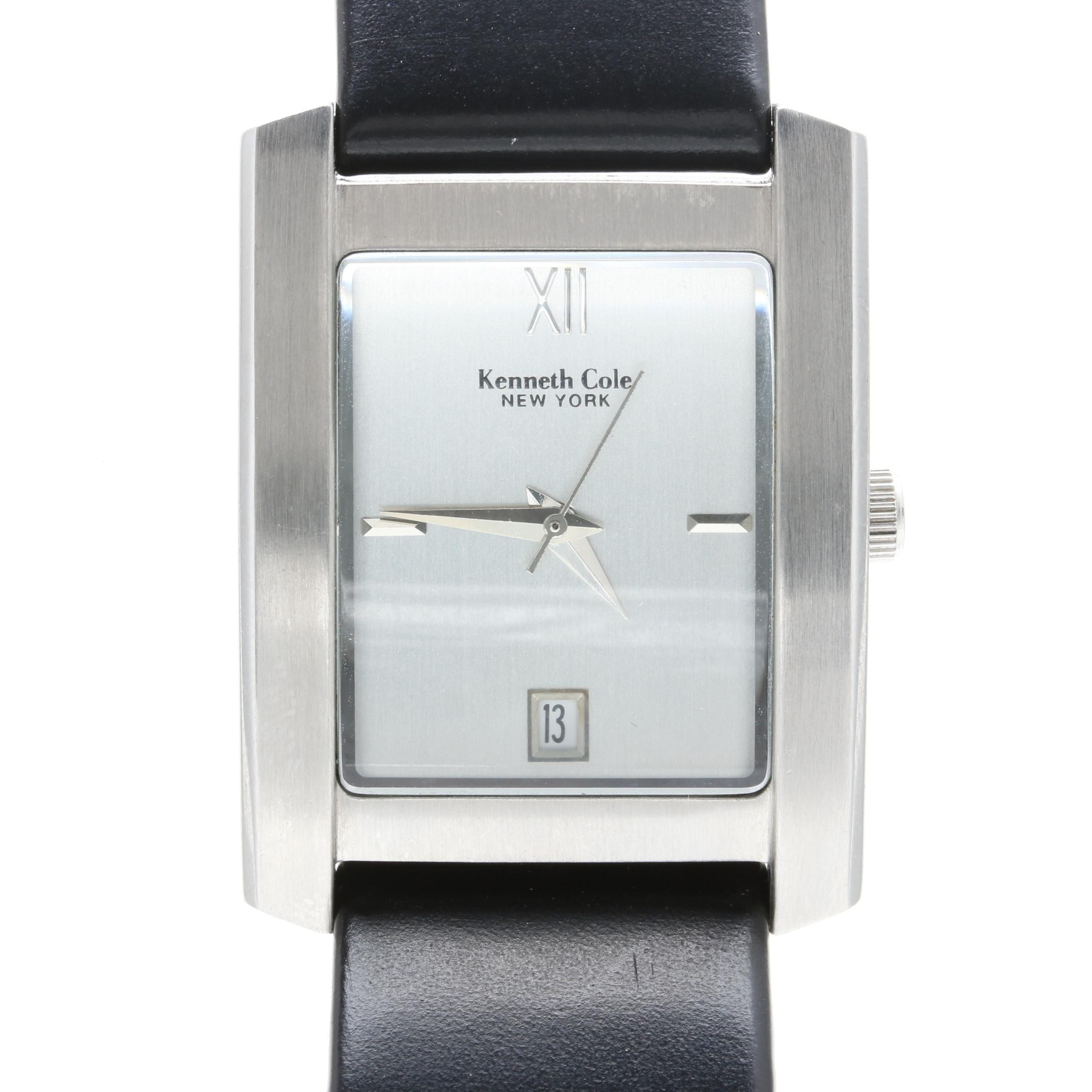 Kenneth Cole Silver Tone Wristwatch