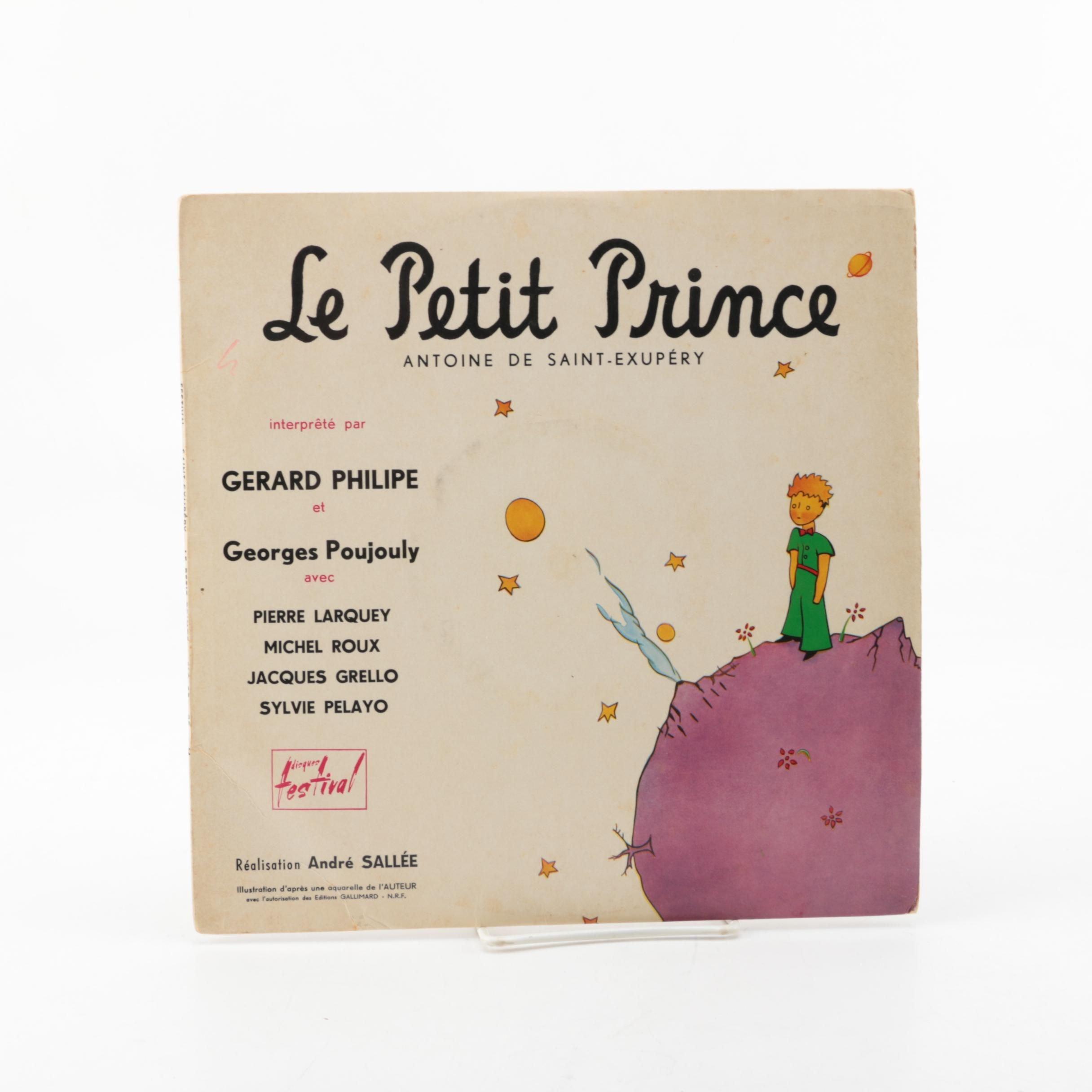 """1954 Antoine De Saint-Exupéry """"Le Petit Prince"""" Record"""