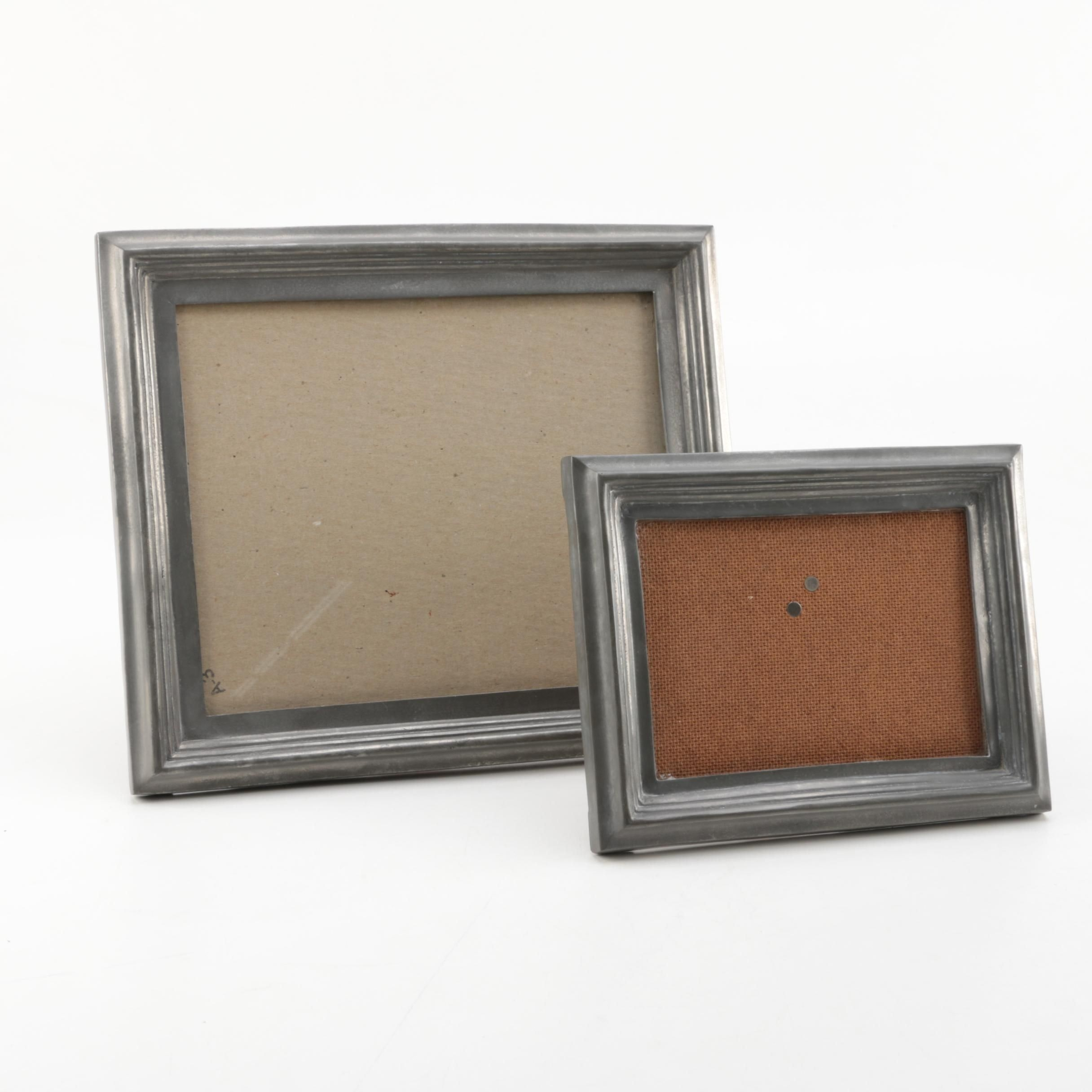 Handmade Portuguese Pewter Picture Frames