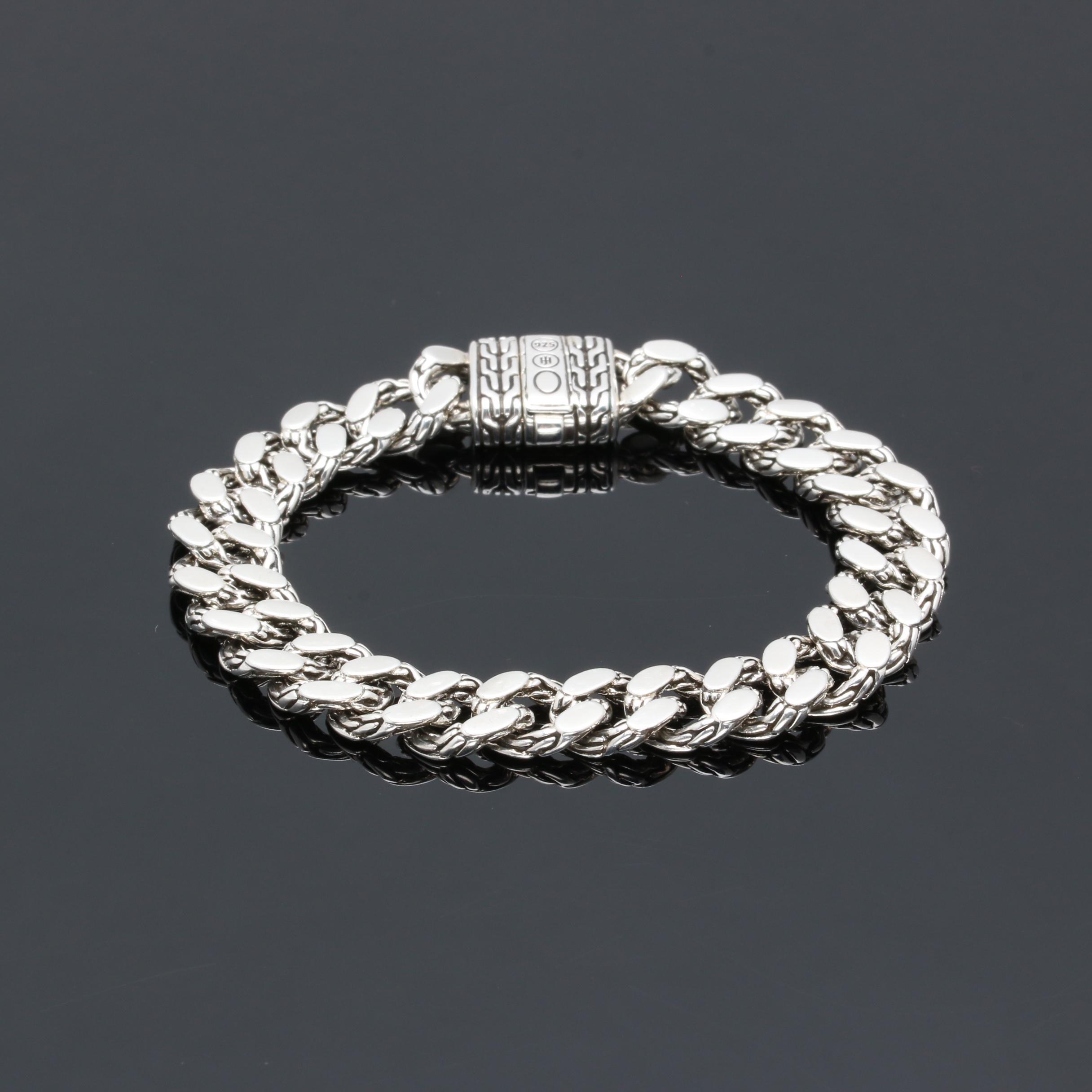 "John Hardy ""Classic Chain"" Sterling Silver Bracelet"