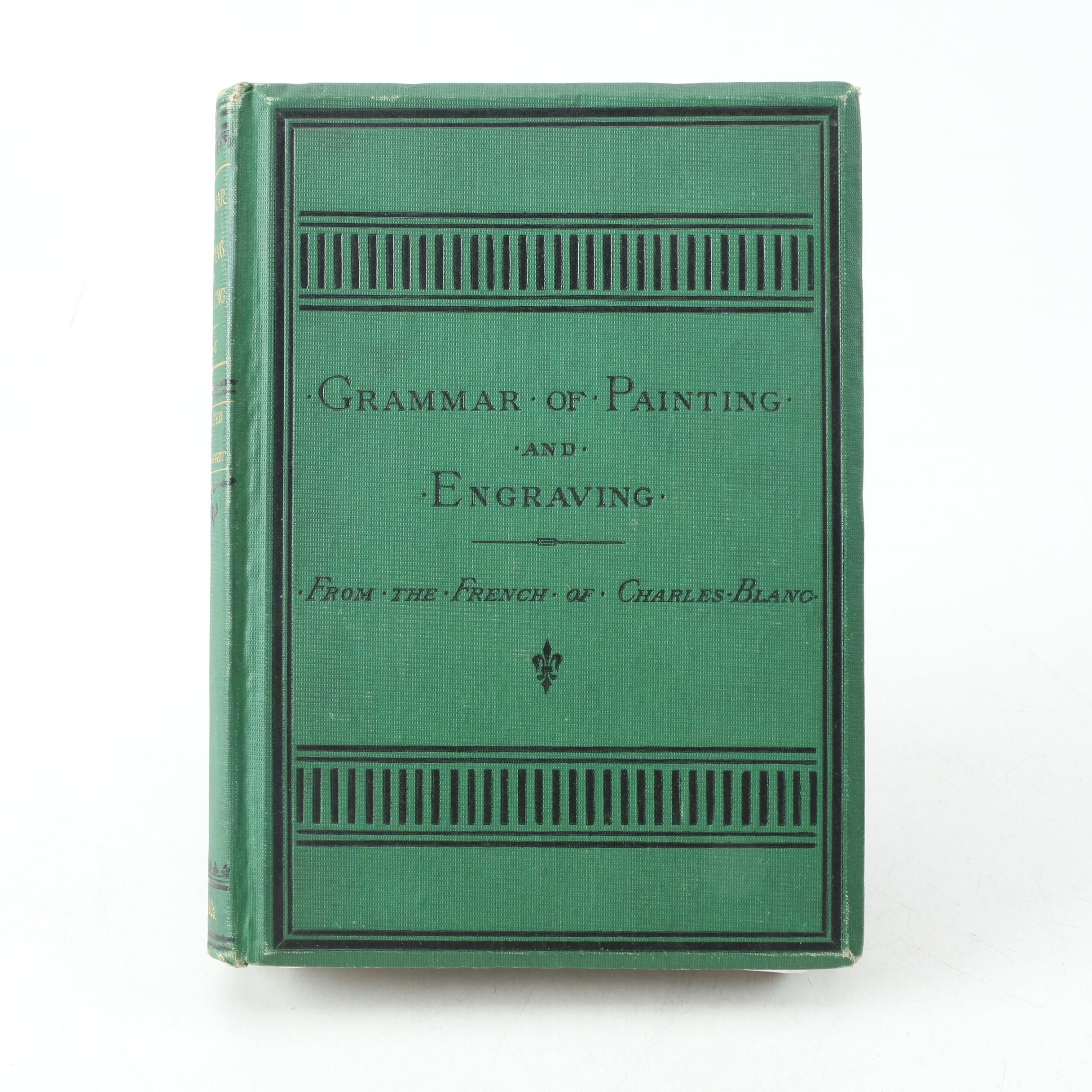 "1879 ""The Grammar of Painting and Engraving"" Illustrated with Color Frontispiece"