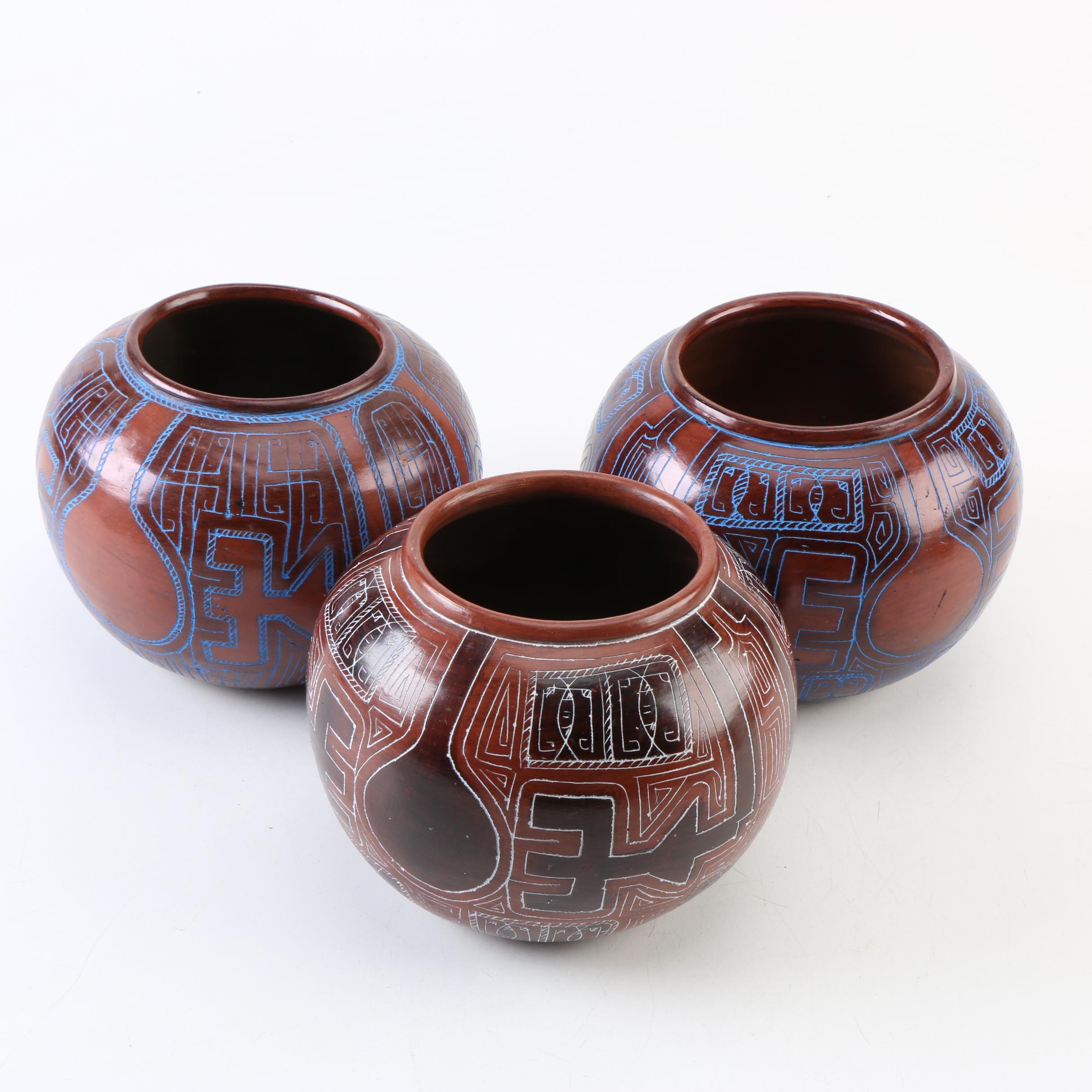 Handmade Brazilian Earthenware Pots