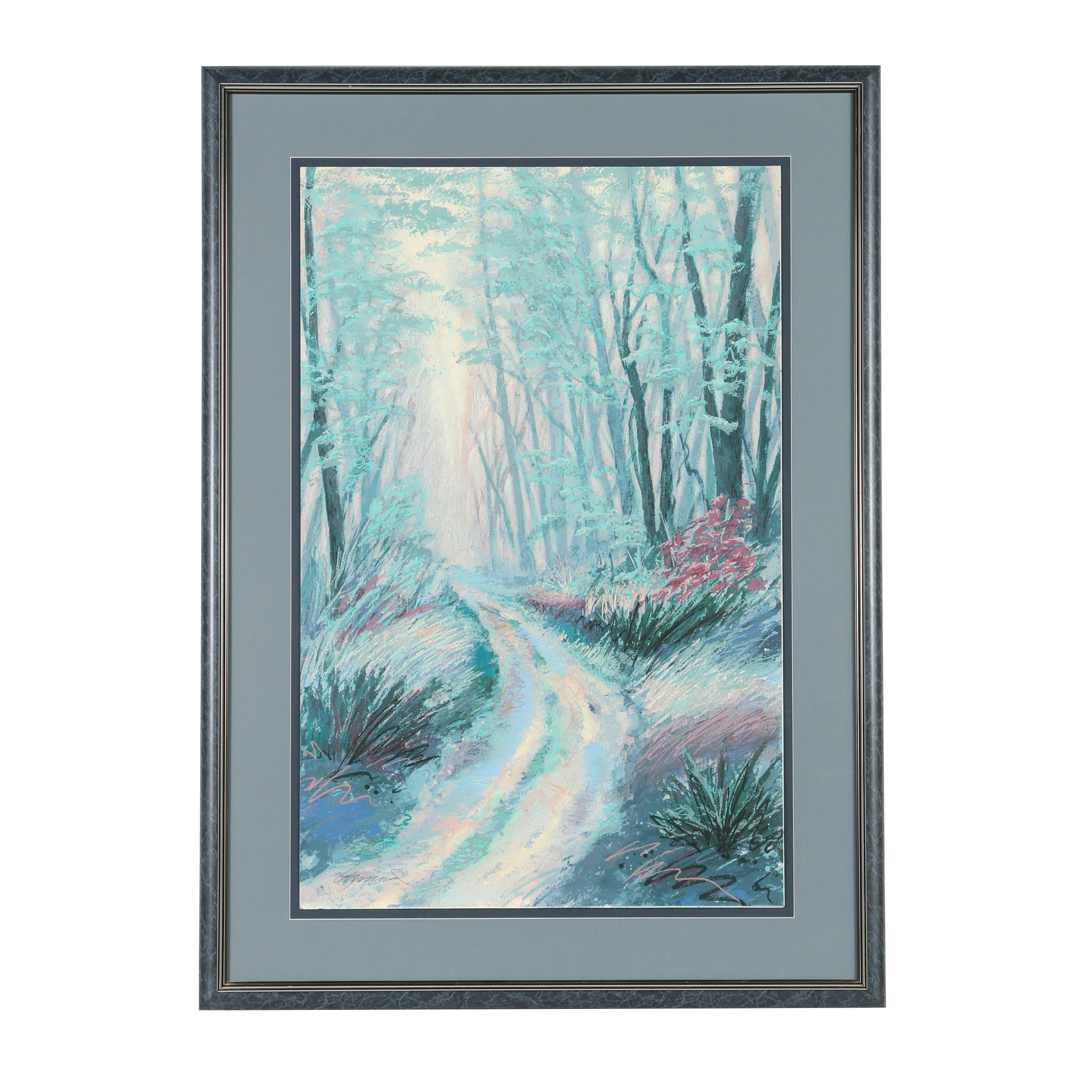 Limited Edition Serigraph of a Forest Path