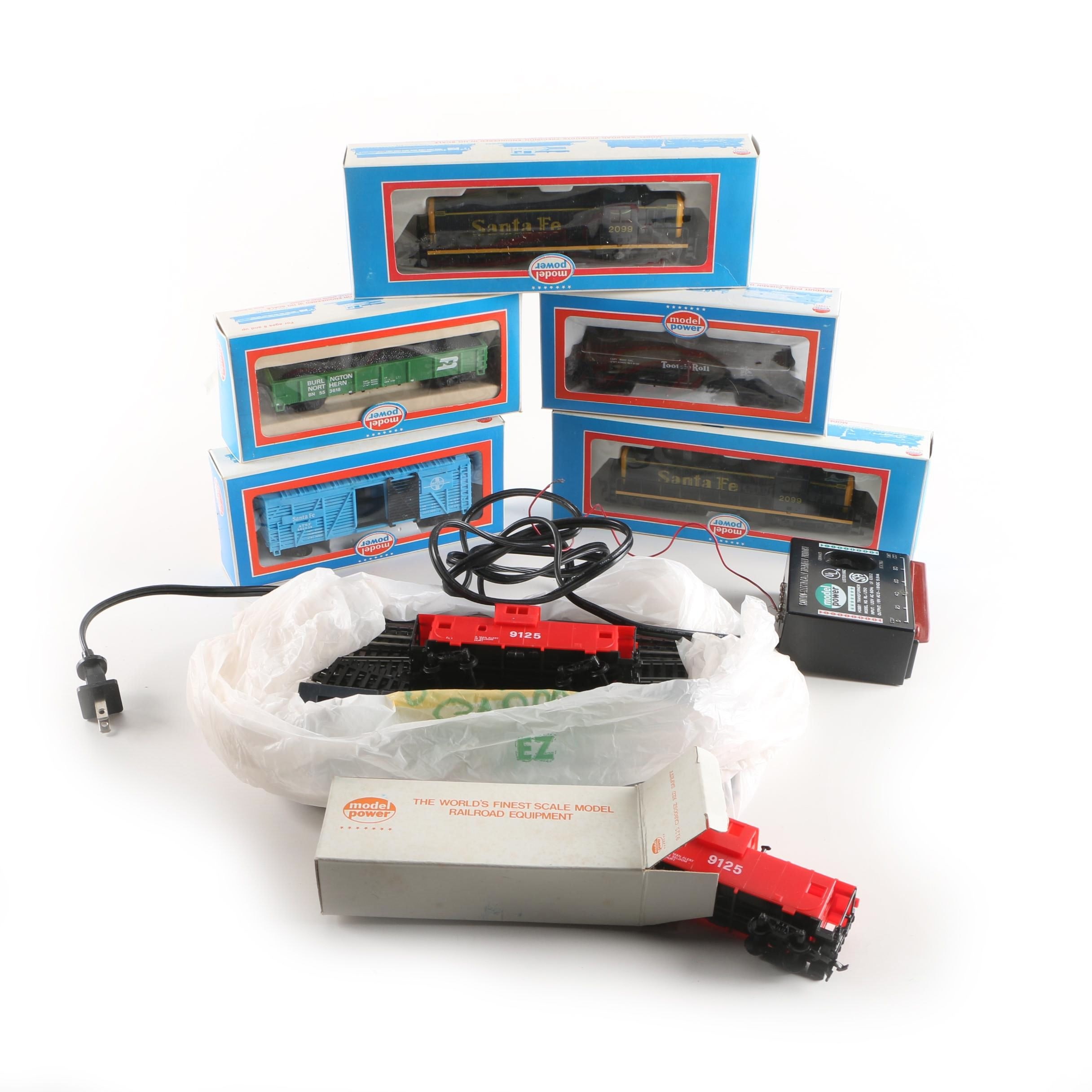 Model Power Trains, Track, and Transformer