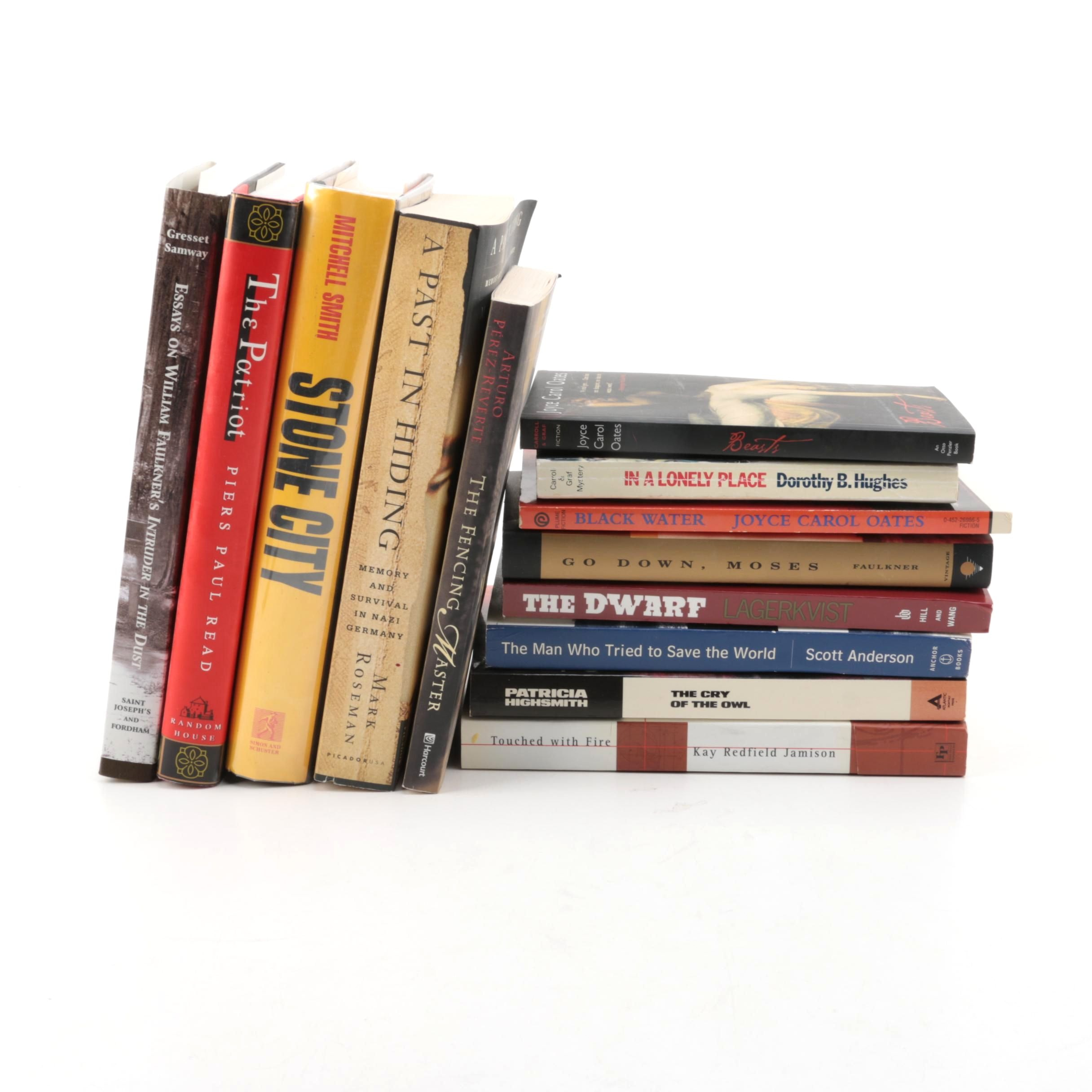 Fiction and Nonfiction Books Including William Faulkner
