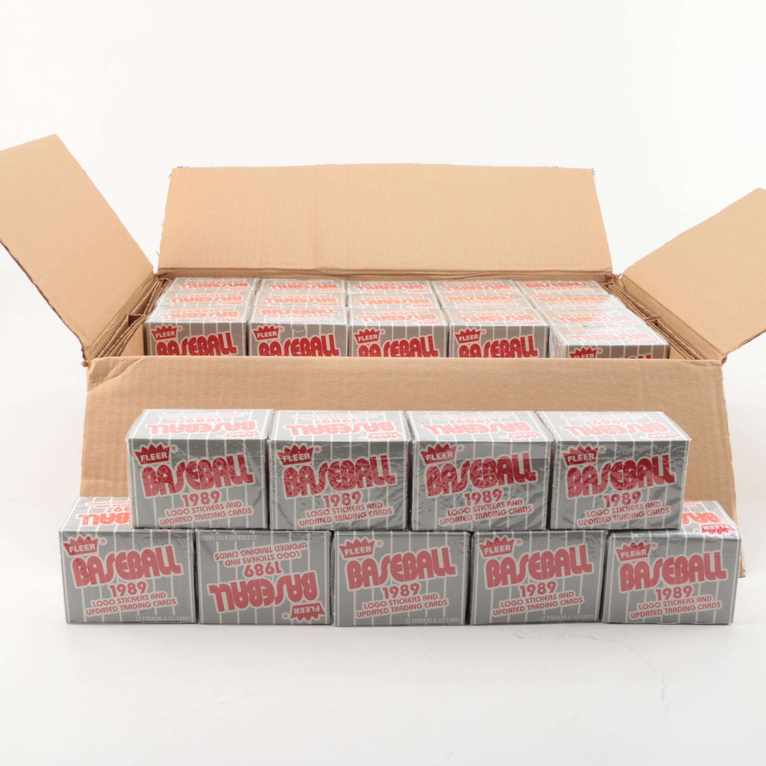 1989 Fleer Baseball Trading Cards