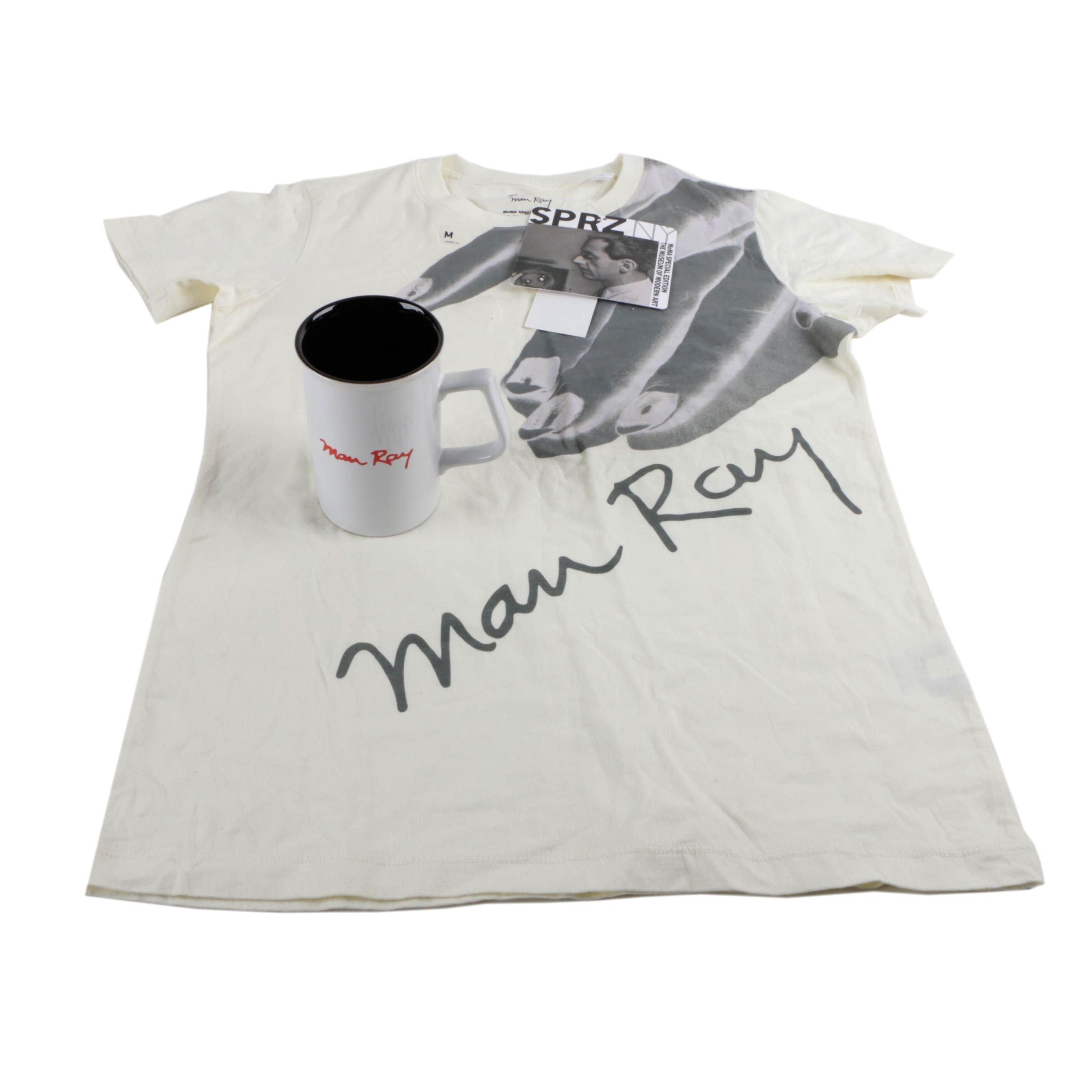 Women's SPRZ NY MOMA Special Edition Man Ray T-Shirt and Mug