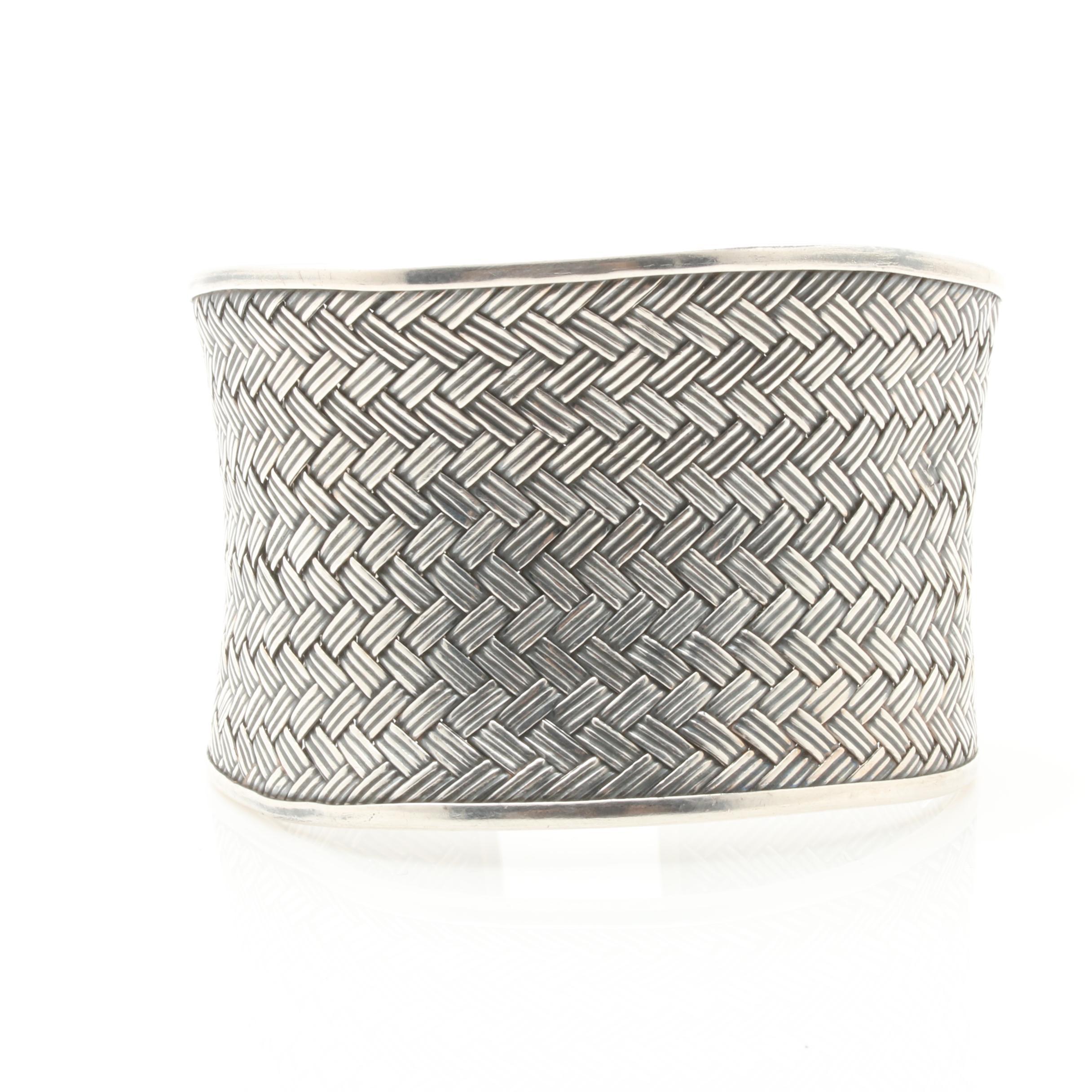 Samuel B Sterling Silver Cuff Bracelet