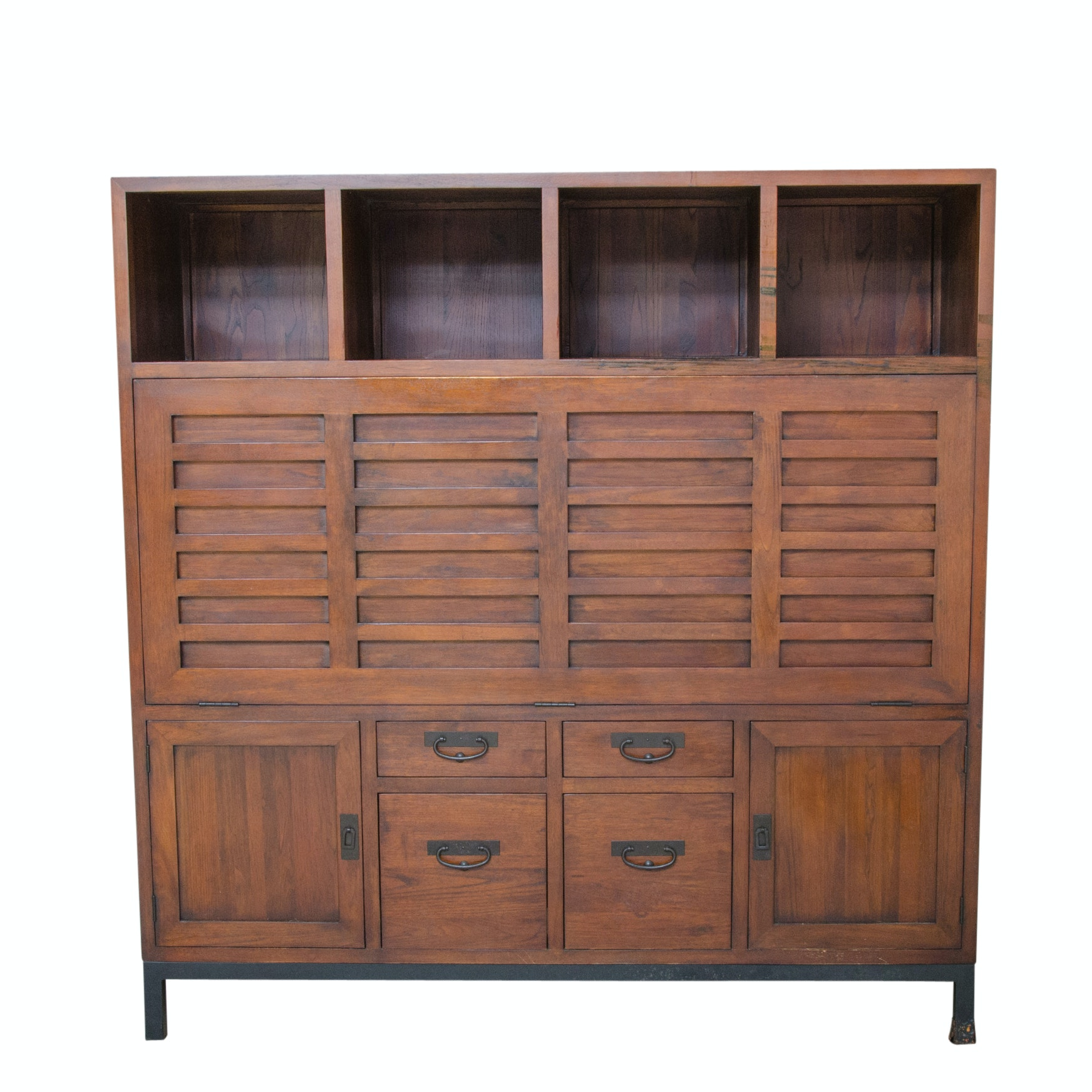Cabinet Style Secretary/ Entertainment Center