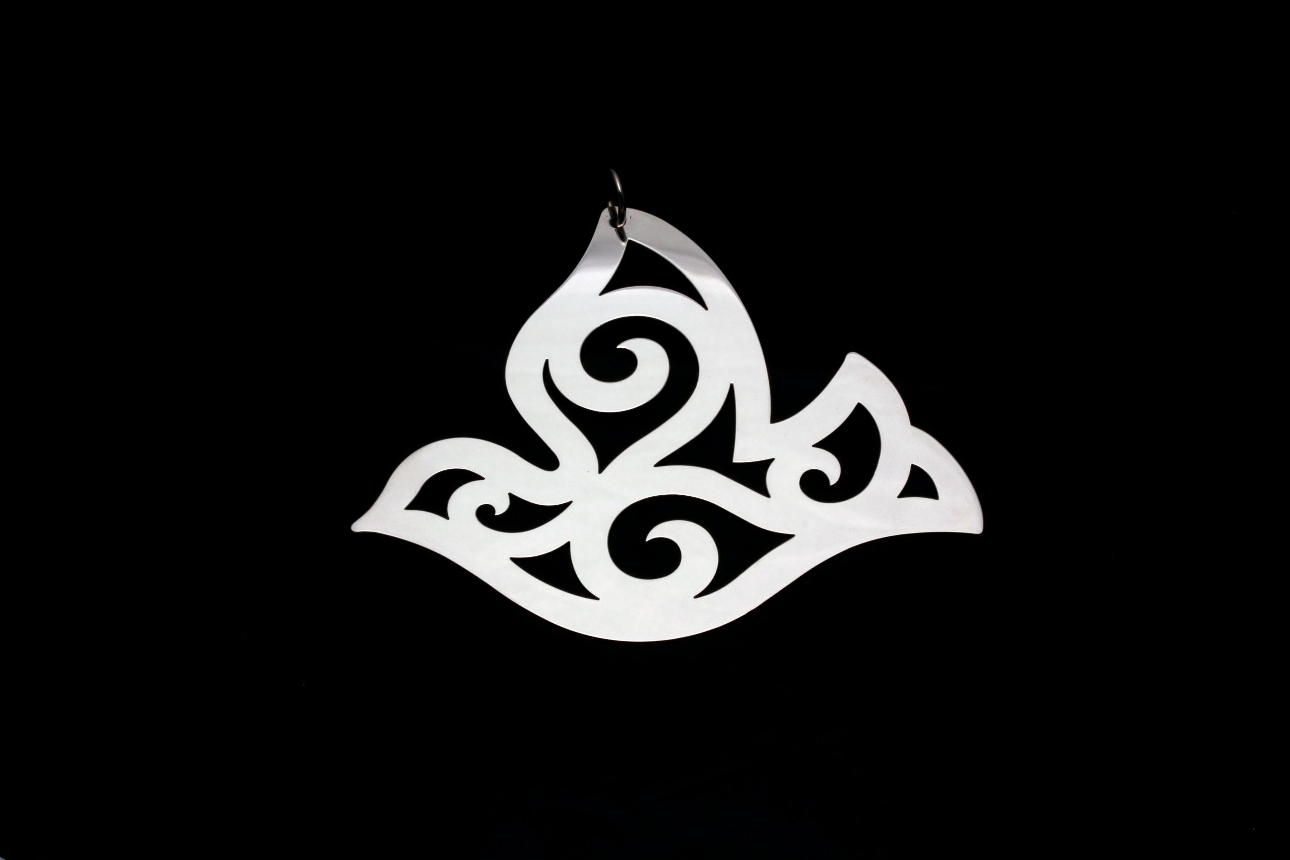 James Avery Sterling Silver Pierced Dove Christmas Ornament