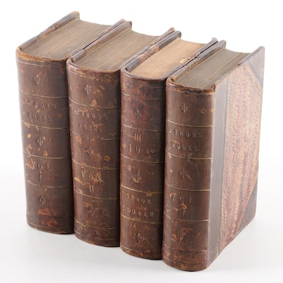 """1831 """"The Works of Lord Byron"""" in Four Volumes"""