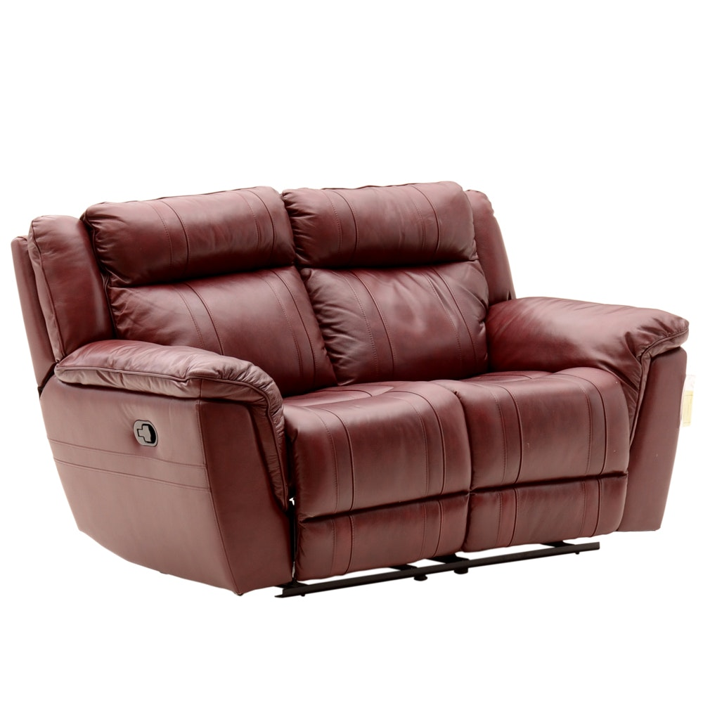 Contemporary Reclining Love Seat