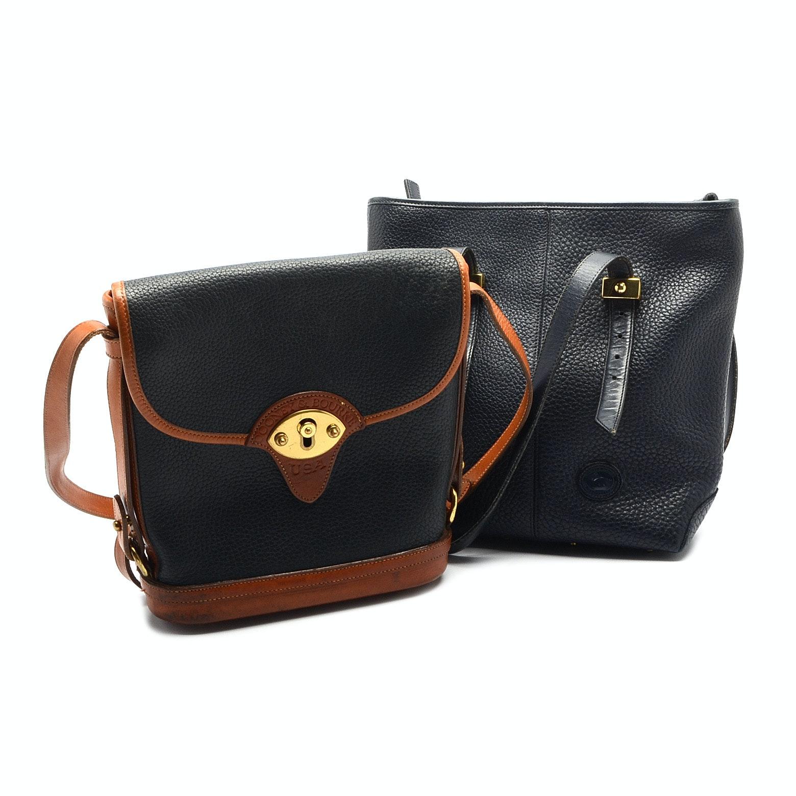 Dooney & Bourke Leather Handbags