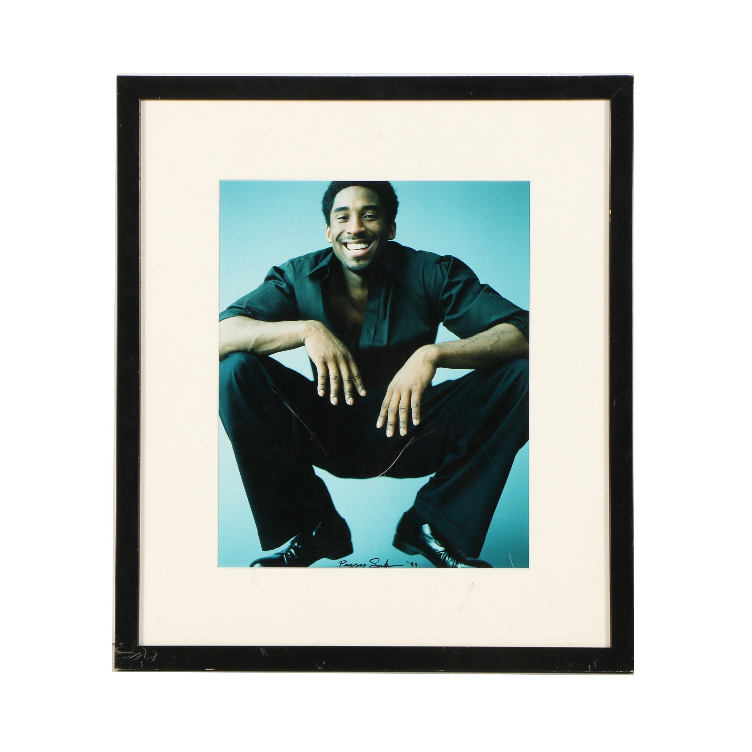 Digital Photograph of Kobe Bryant