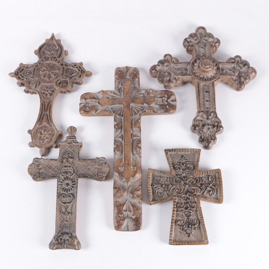 Decorative Cross Wall Plaques : EBTH