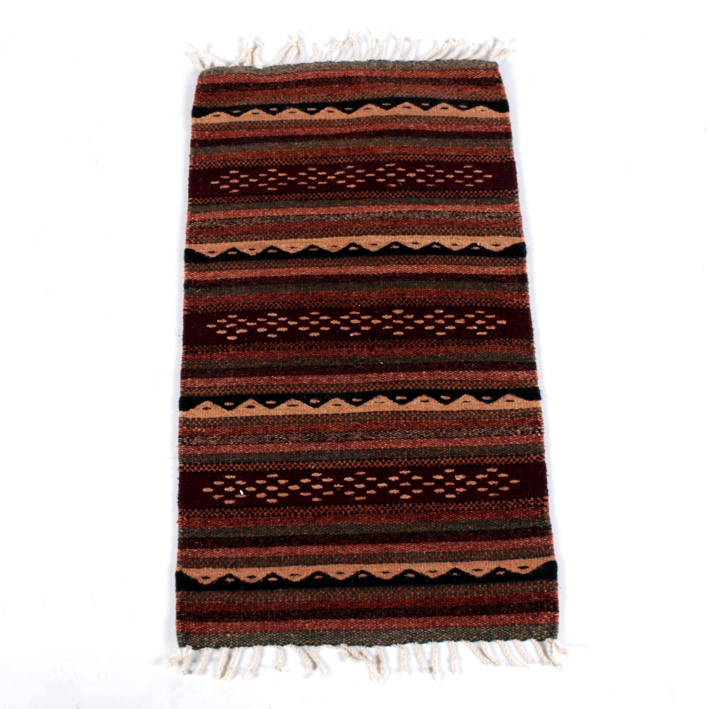 Handwoven Wool Accent Rug