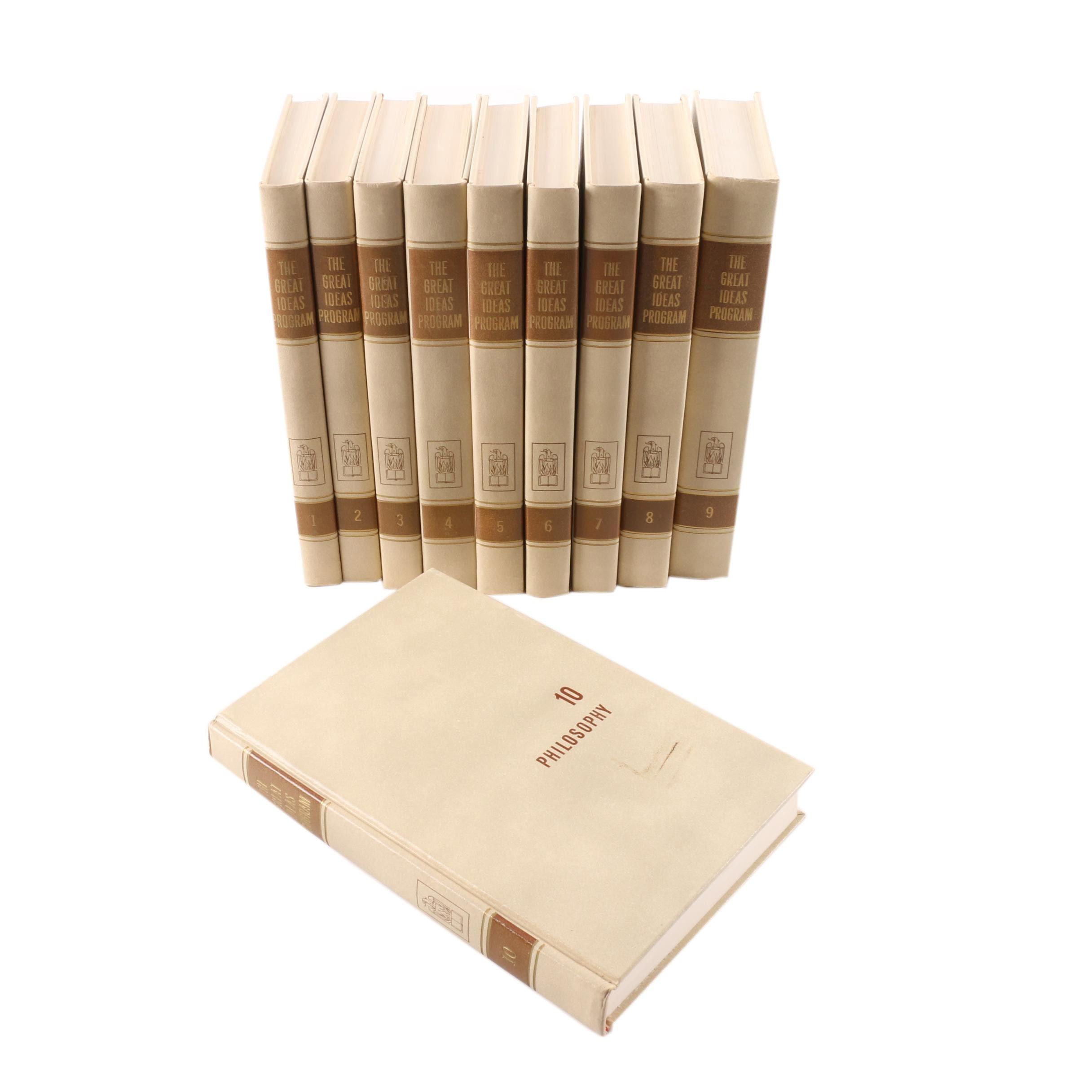 "1959 Ten-Volume ""The Great Ideas Program"" Book Set"