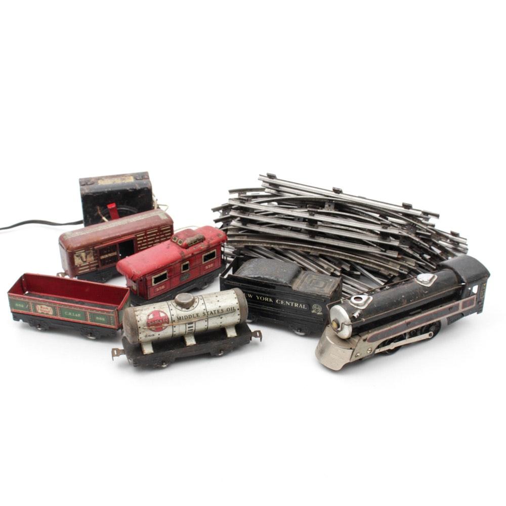 Tin Trains, Tracks, and Transformer