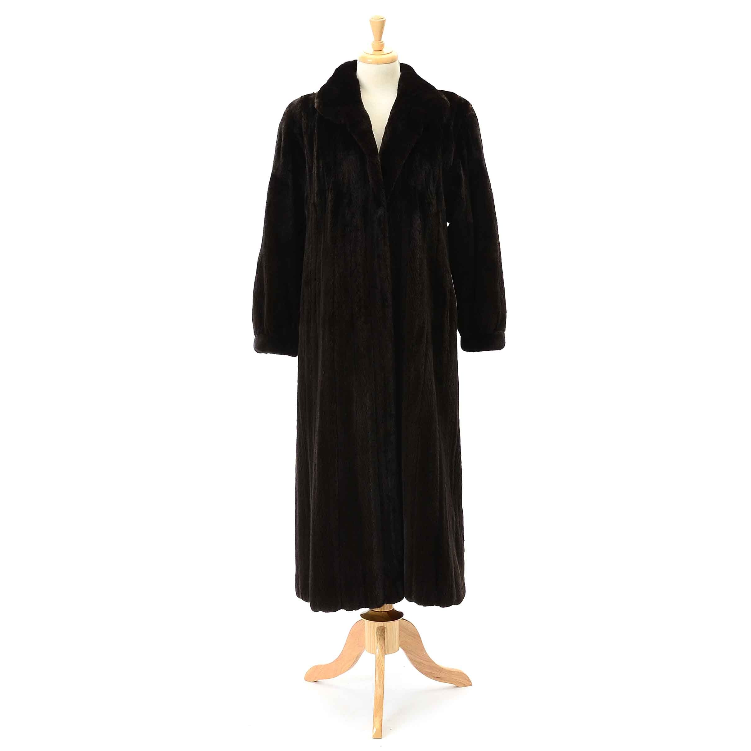 Women's Vintage Sheared Mink Fur Coat