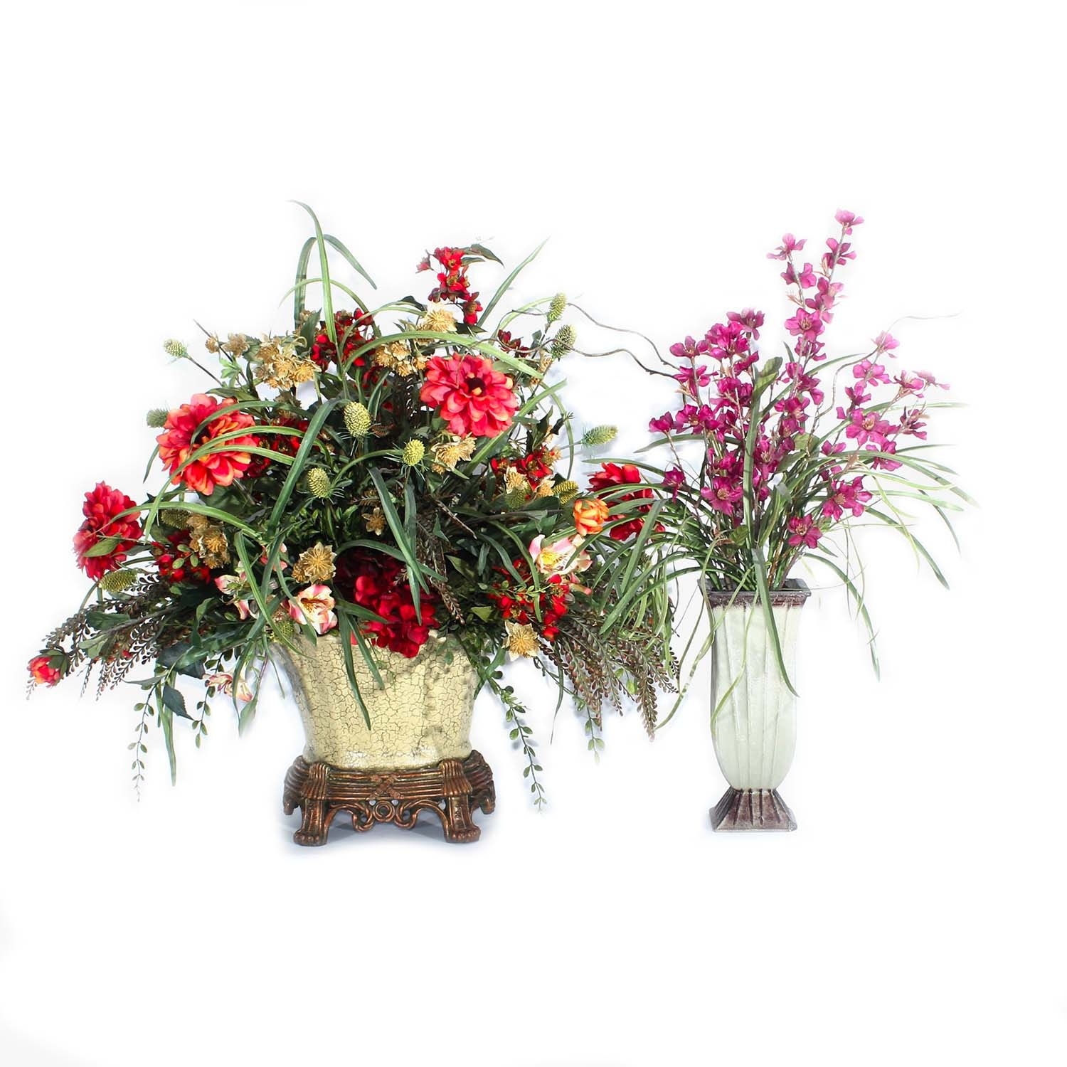 Pink and Red Sacksteder's Interiors Artificial Flowers