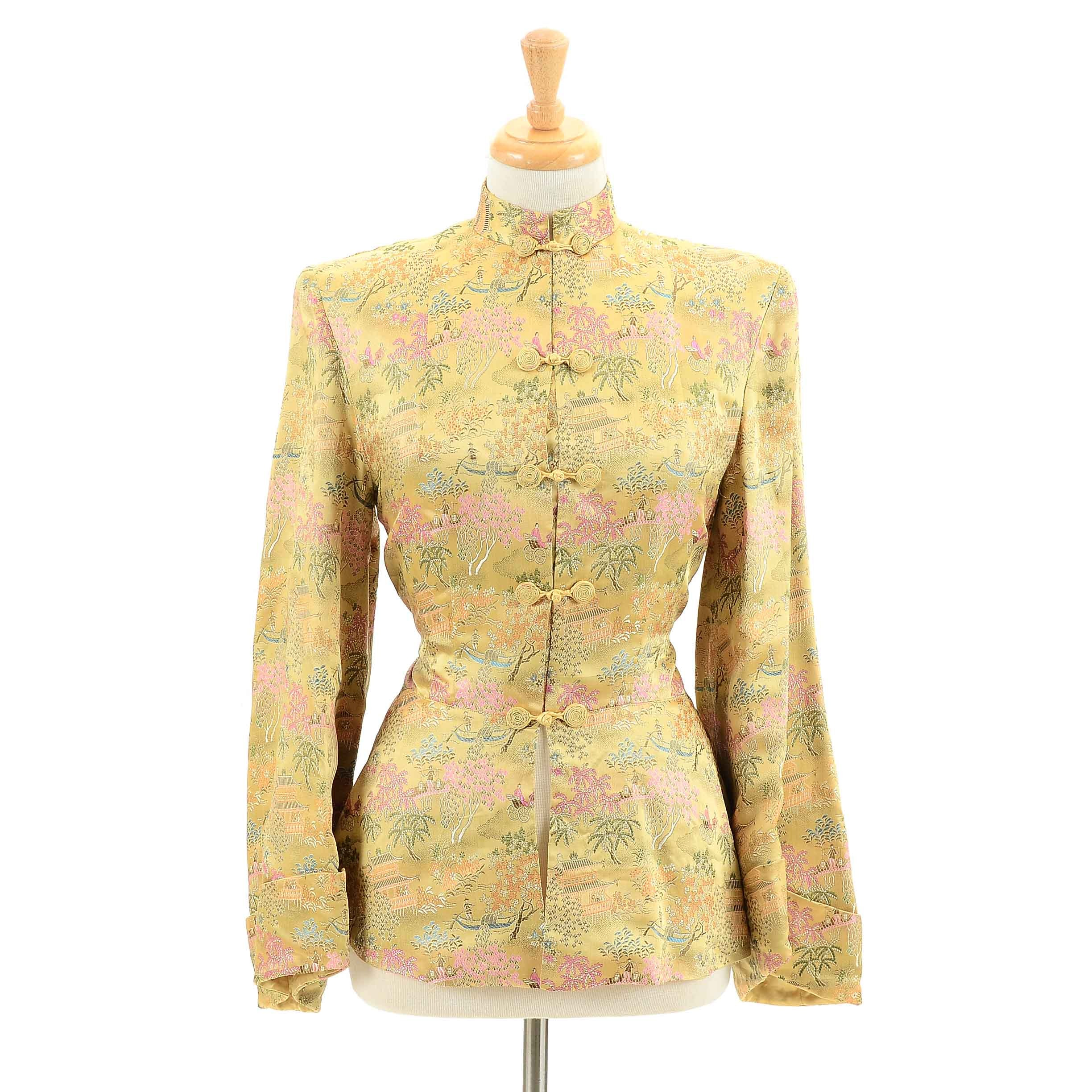 Women's Vintage Chinese Silk Jacket