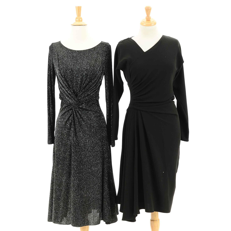 Armani and St. John Black Cocktail Dresses