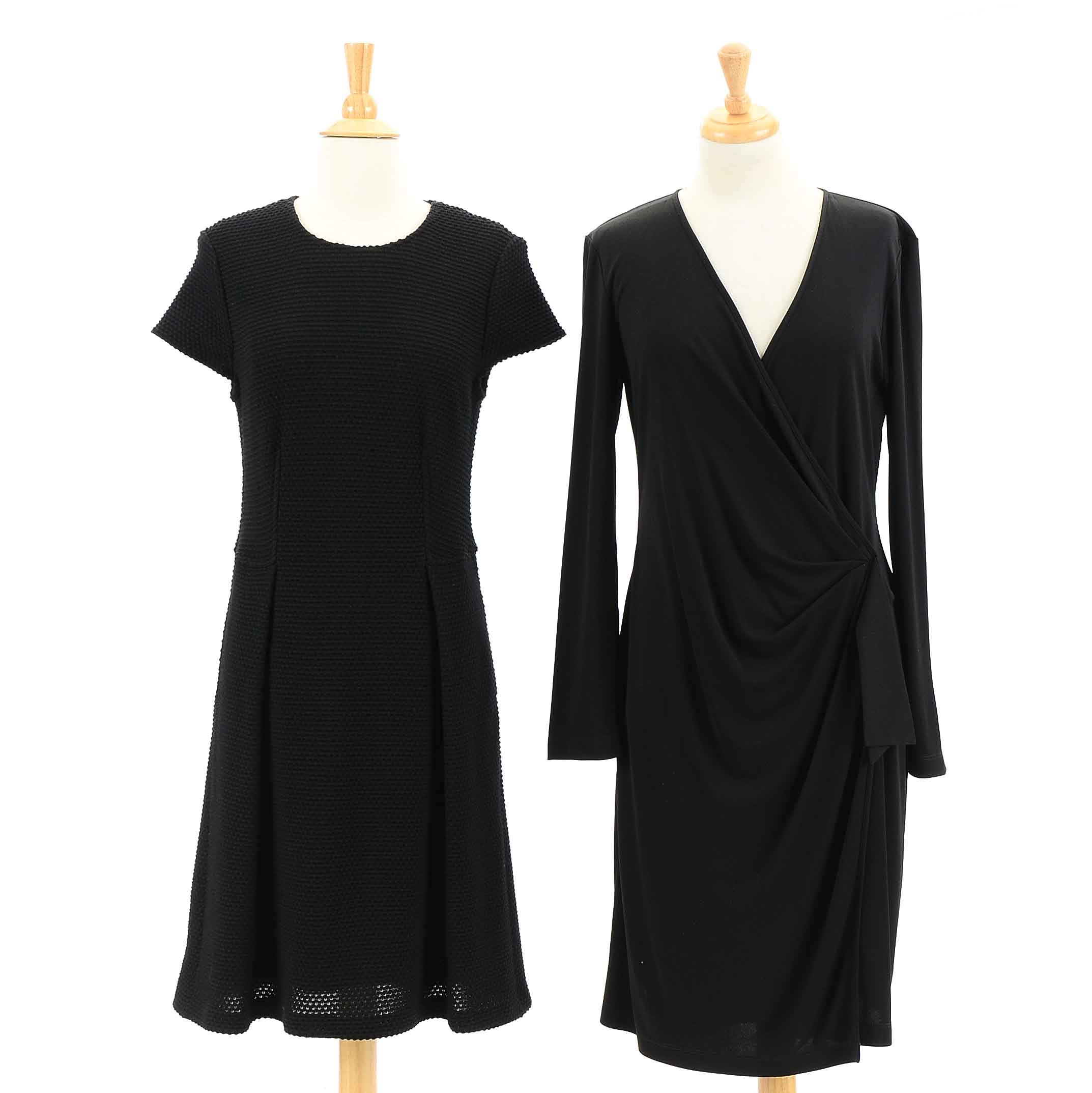 St. John Black Dresses