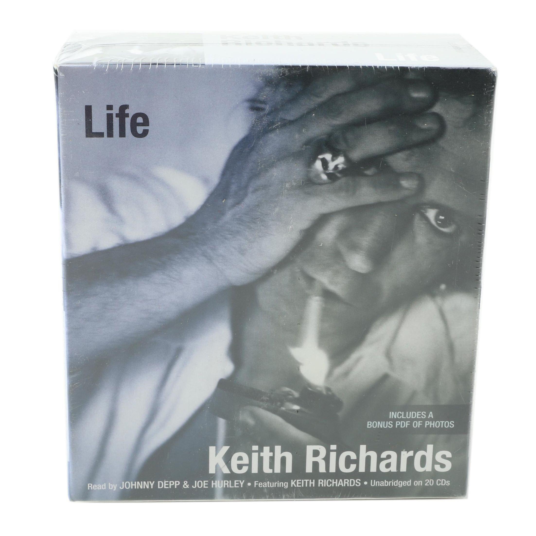 "Keith Richards ""Life"" Audio Book"