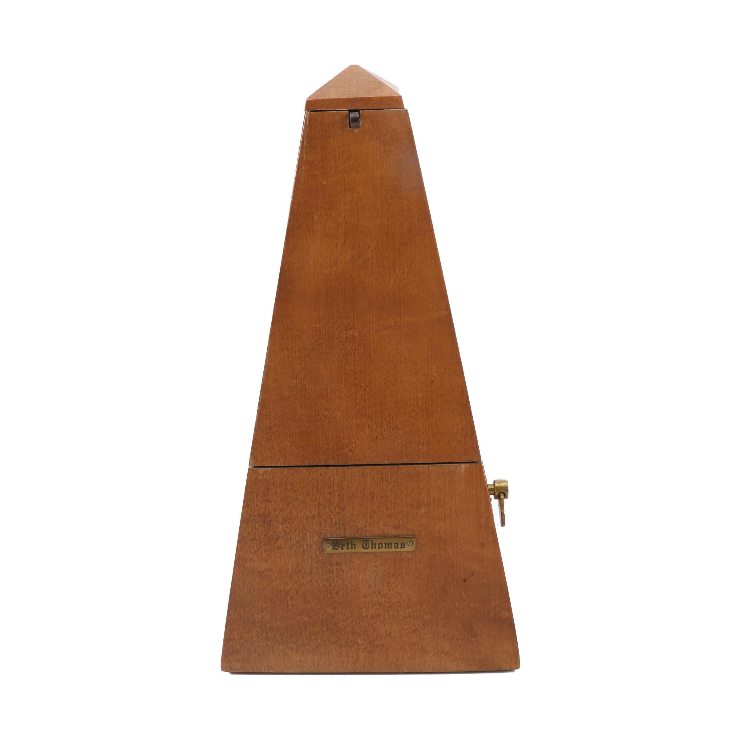 Seth Thomas Pyramid Metronome