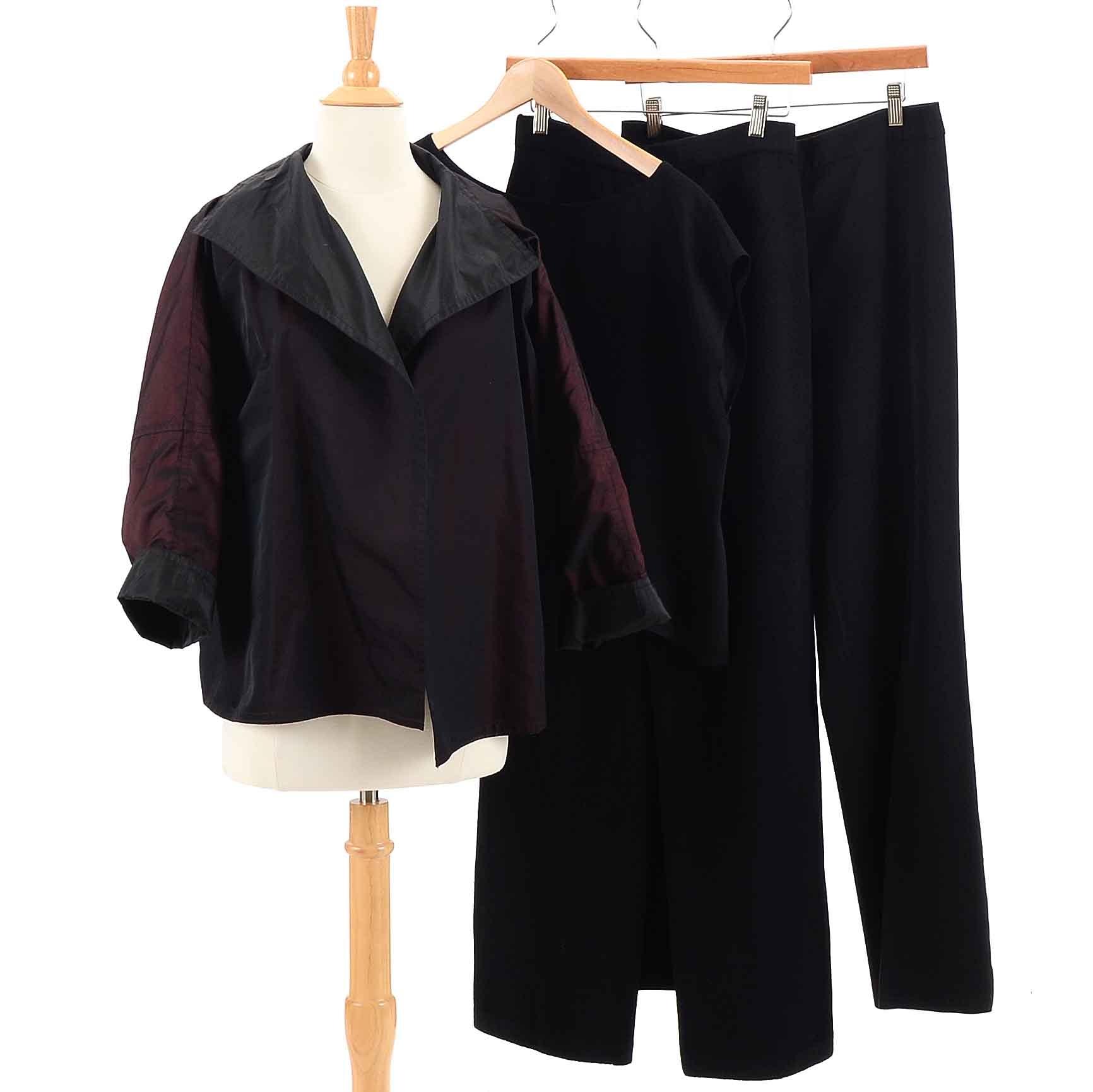 St. John Pants, Zoran Shell and Reversible Jacket
