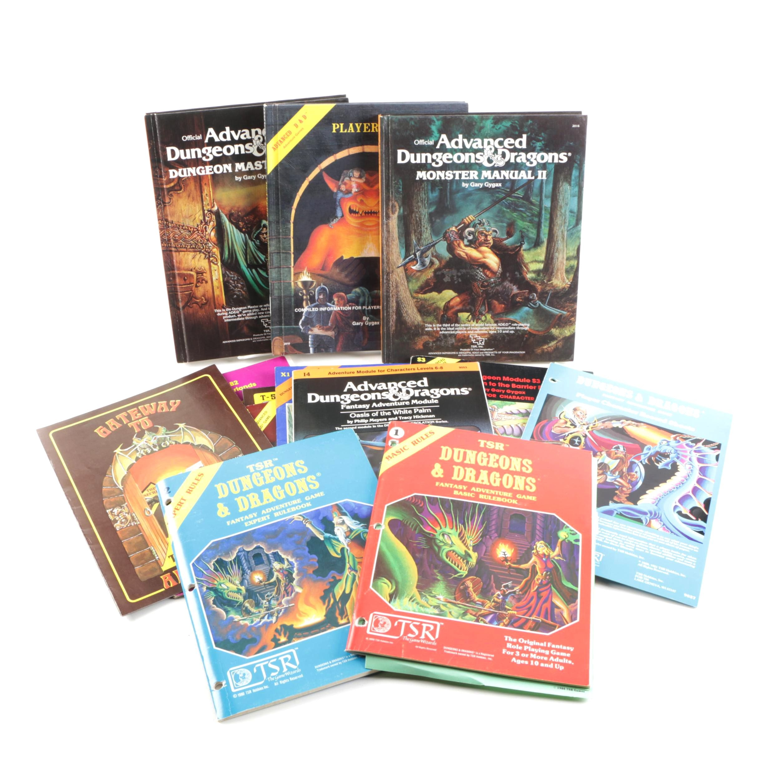 Vintage Dungeons & Dragons Manuals and Rulebooks