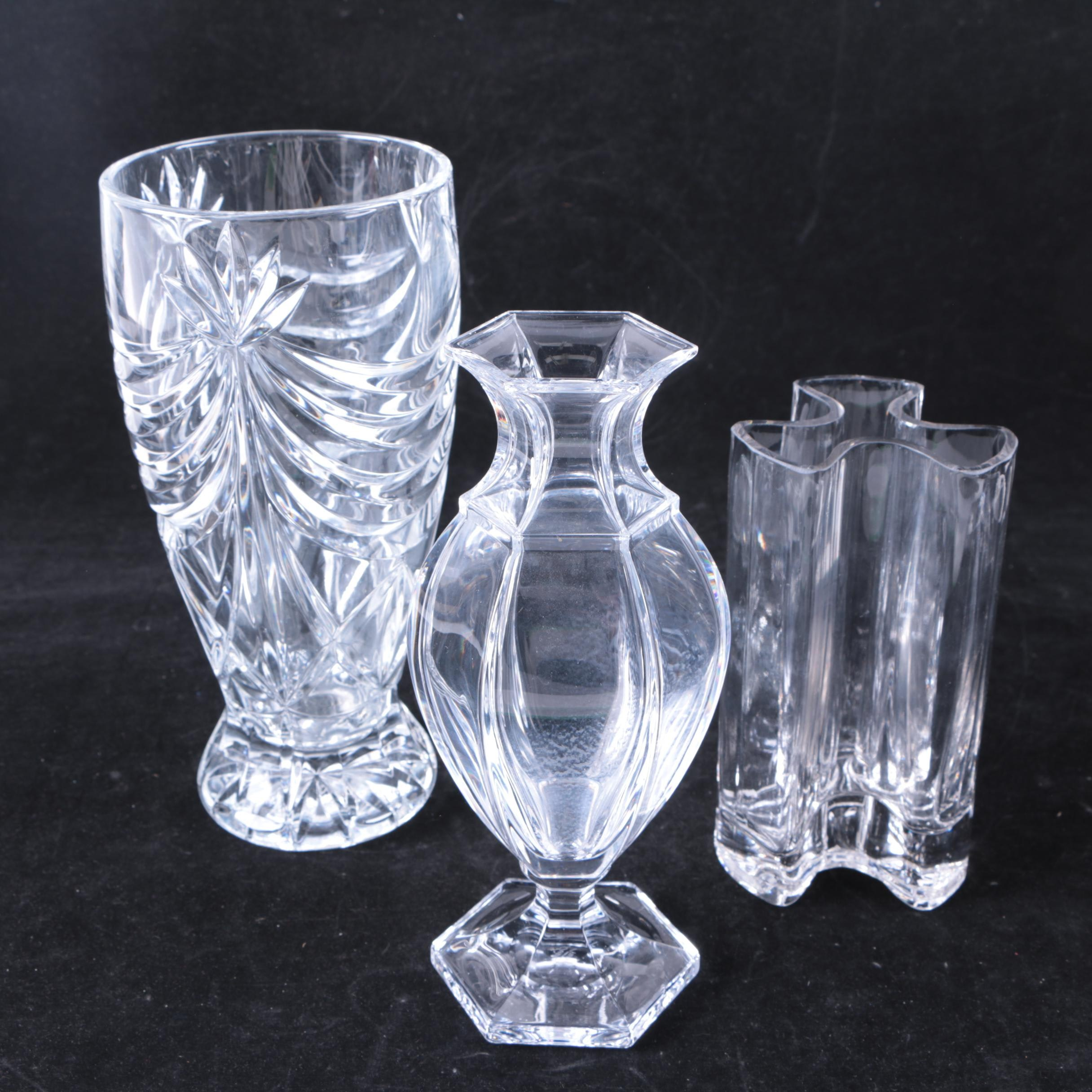 Vases Featuring Sèvres Crystal