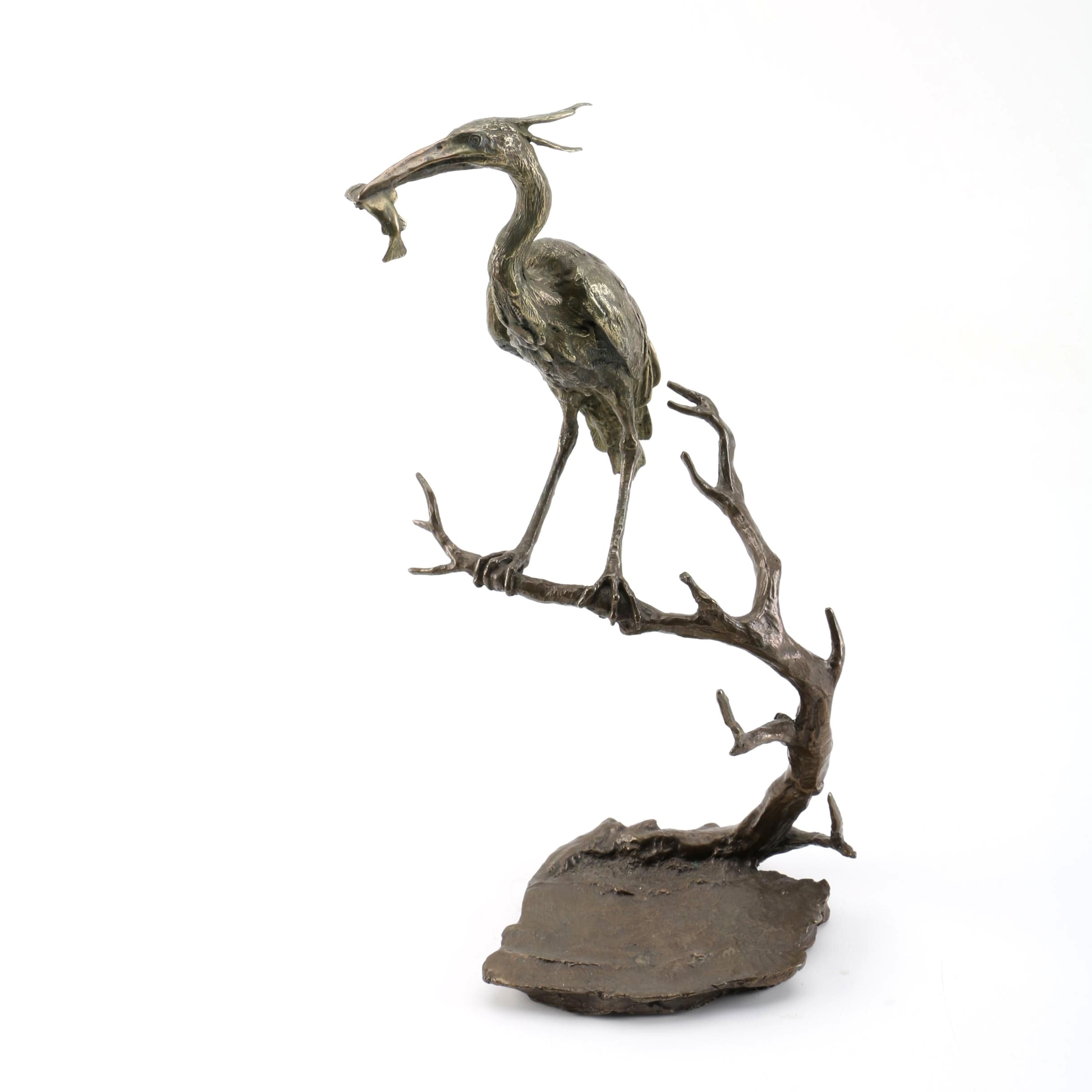 Mark Hopkins Limited Edition Sculpture of a Heron