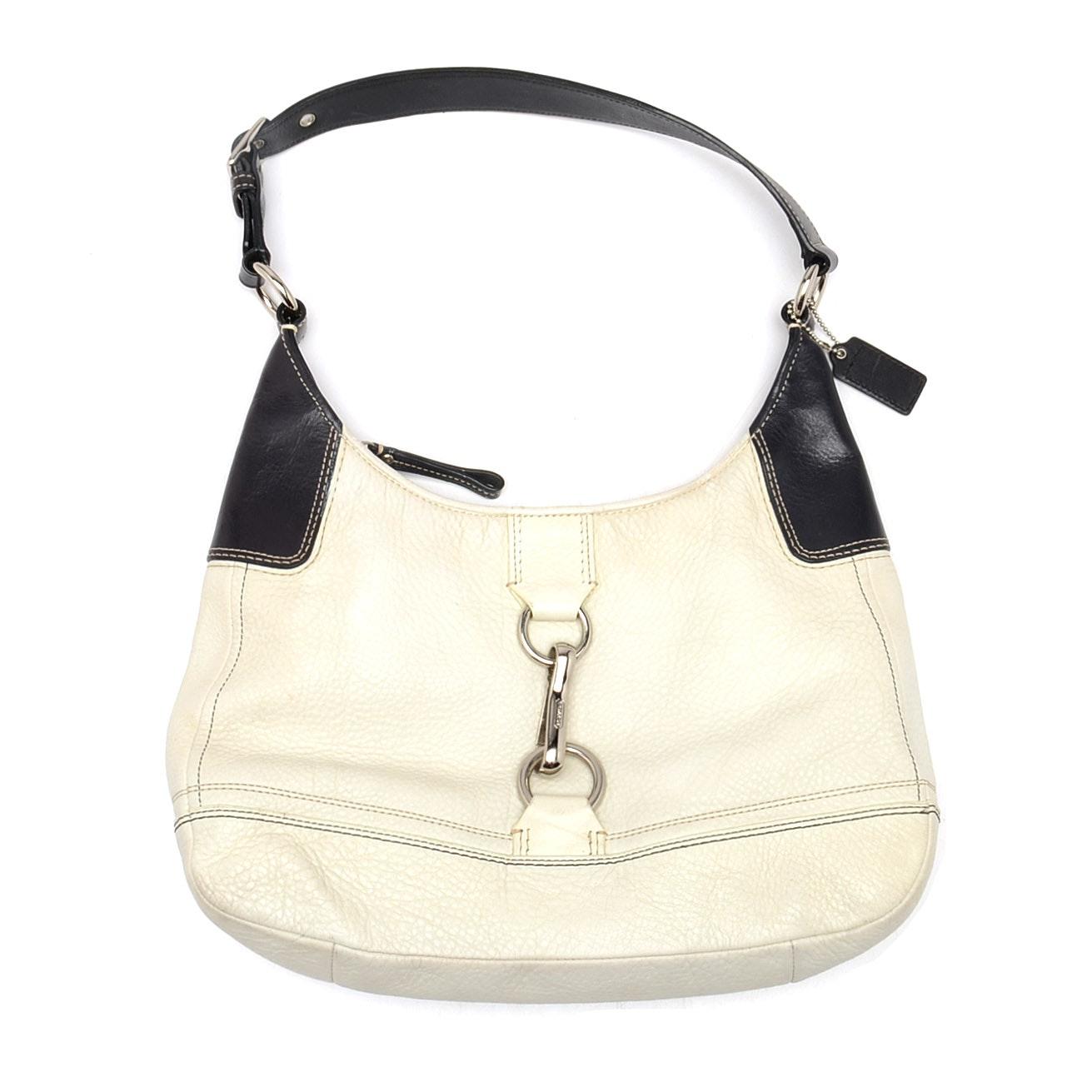 Coach Hamilton Leather Hobo Handbag